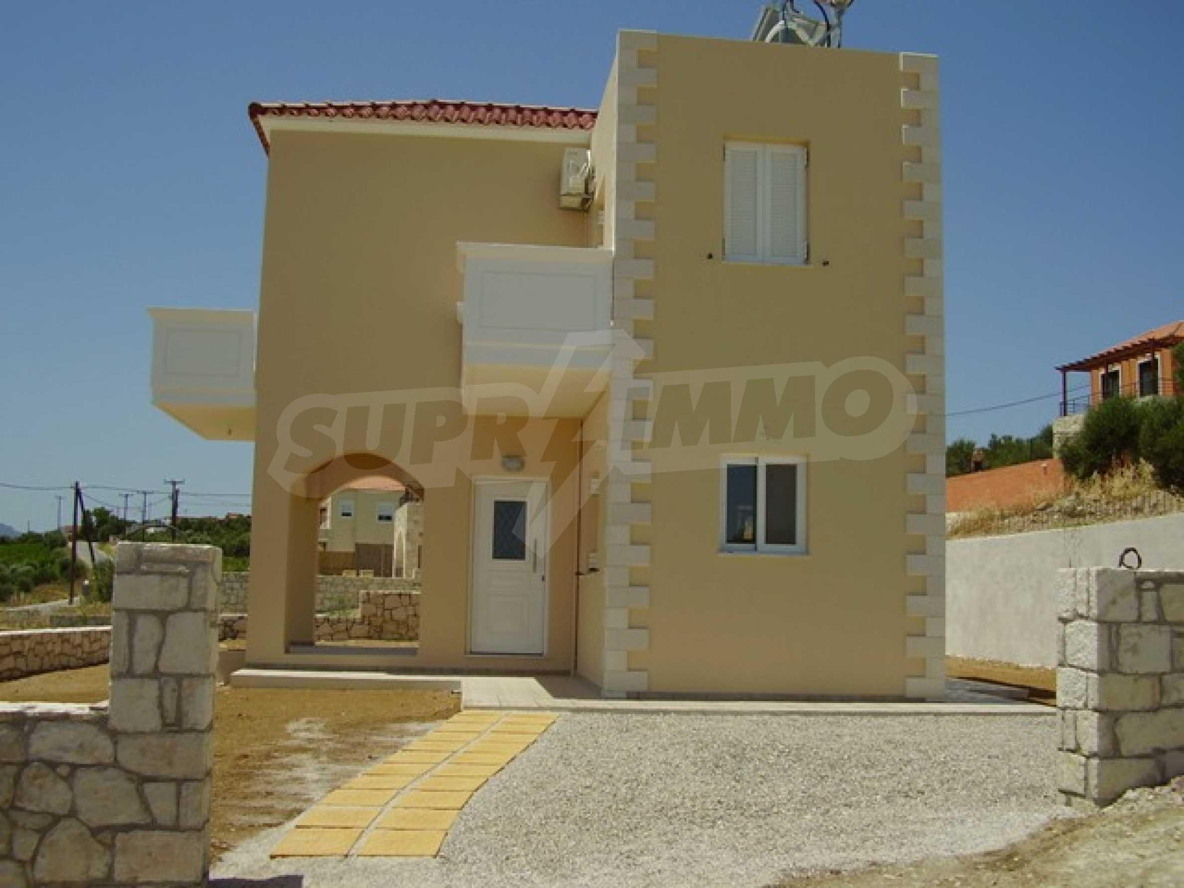Къщи с великолепна гледка на о. Крит