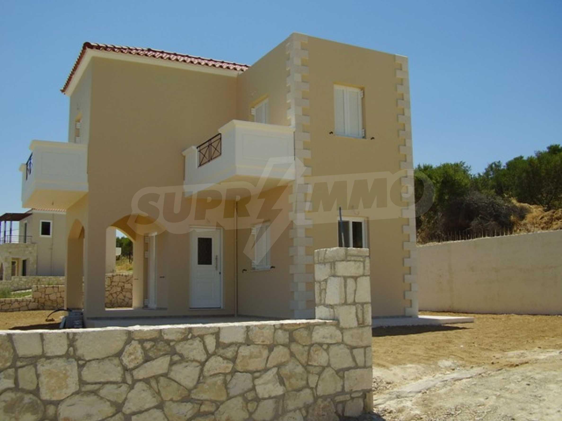 Къщи с великолепна гледка на о. Крит 1