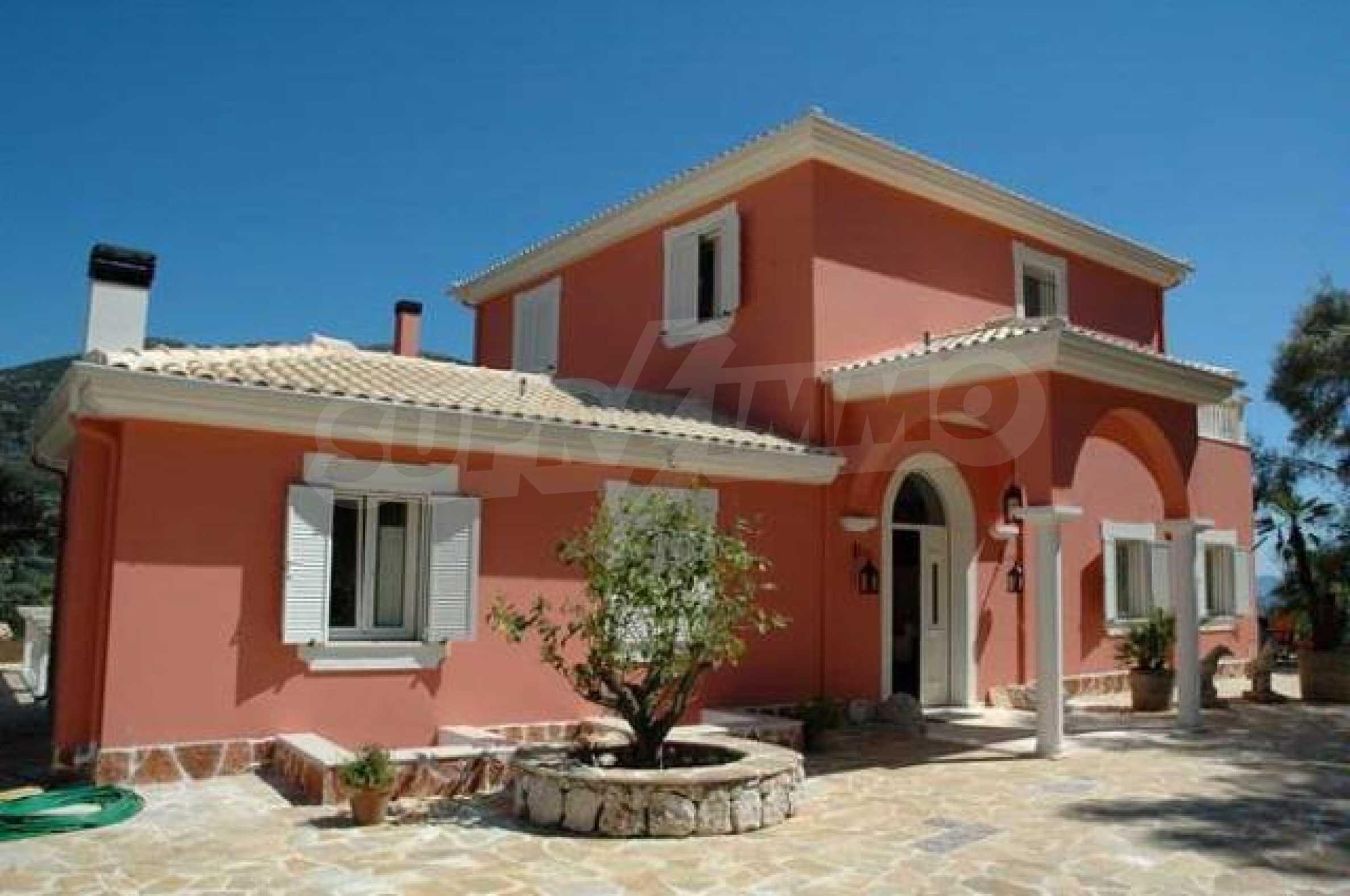 Луксозна къща на остров Лефкада 3