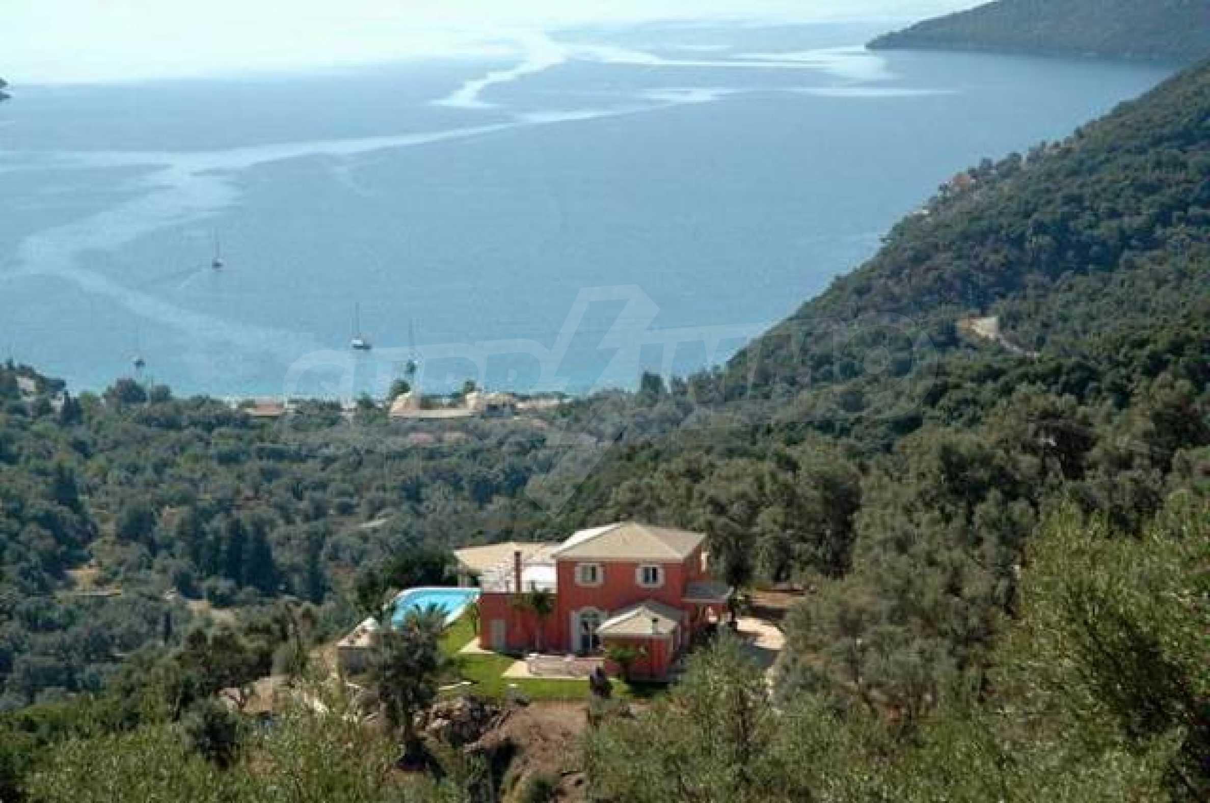 Луксозна къща на остров Лефкада 6