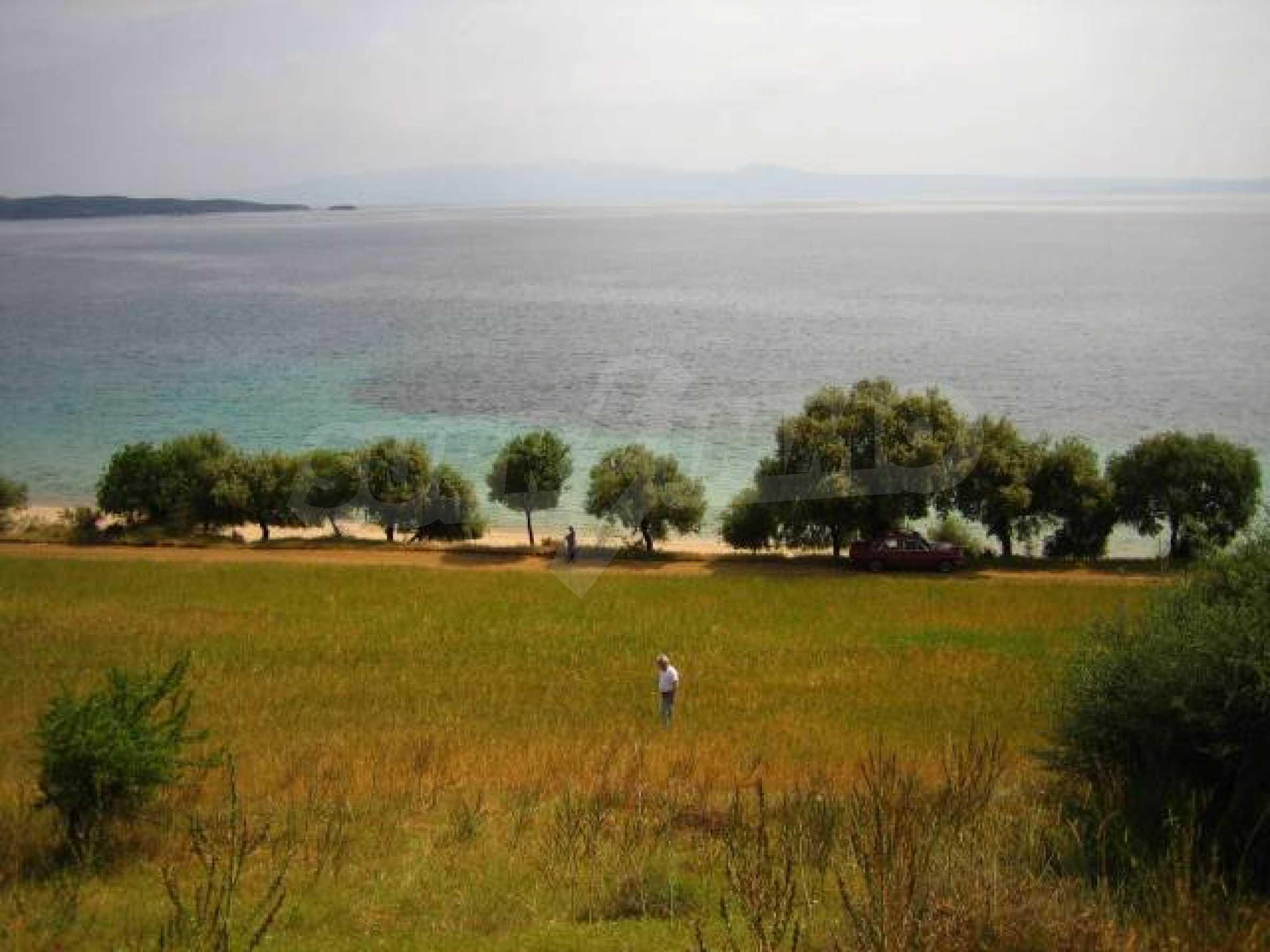 Чуден парцел на полуостров Халкидики