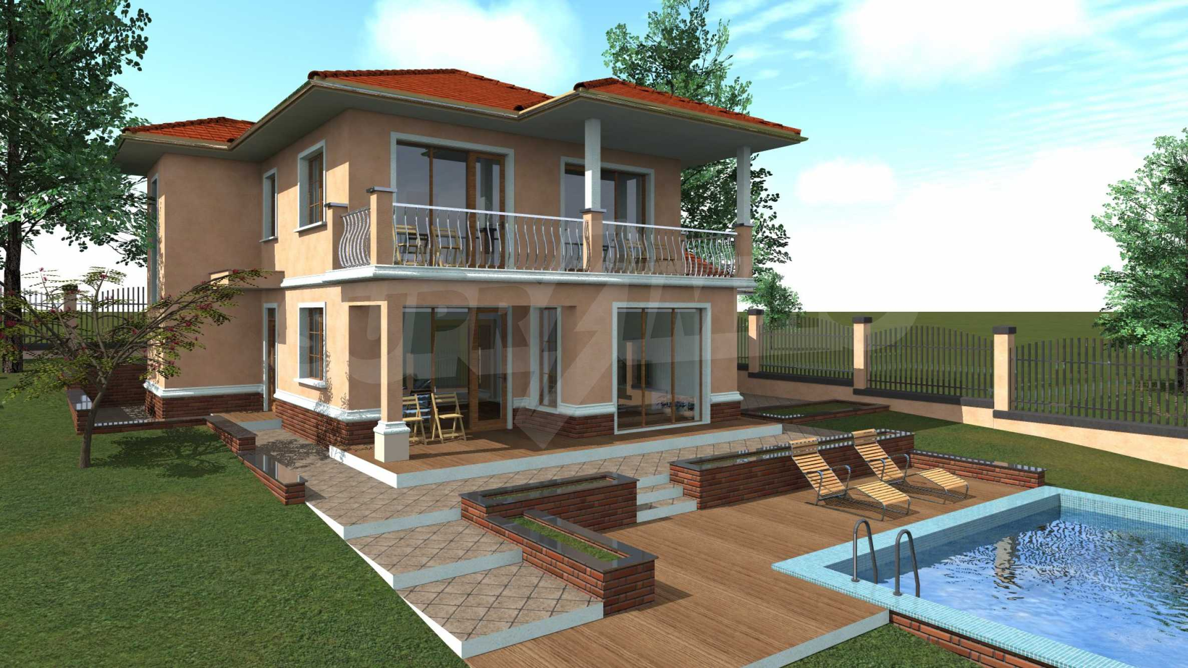 Двуетажна къща близо до Варна 1