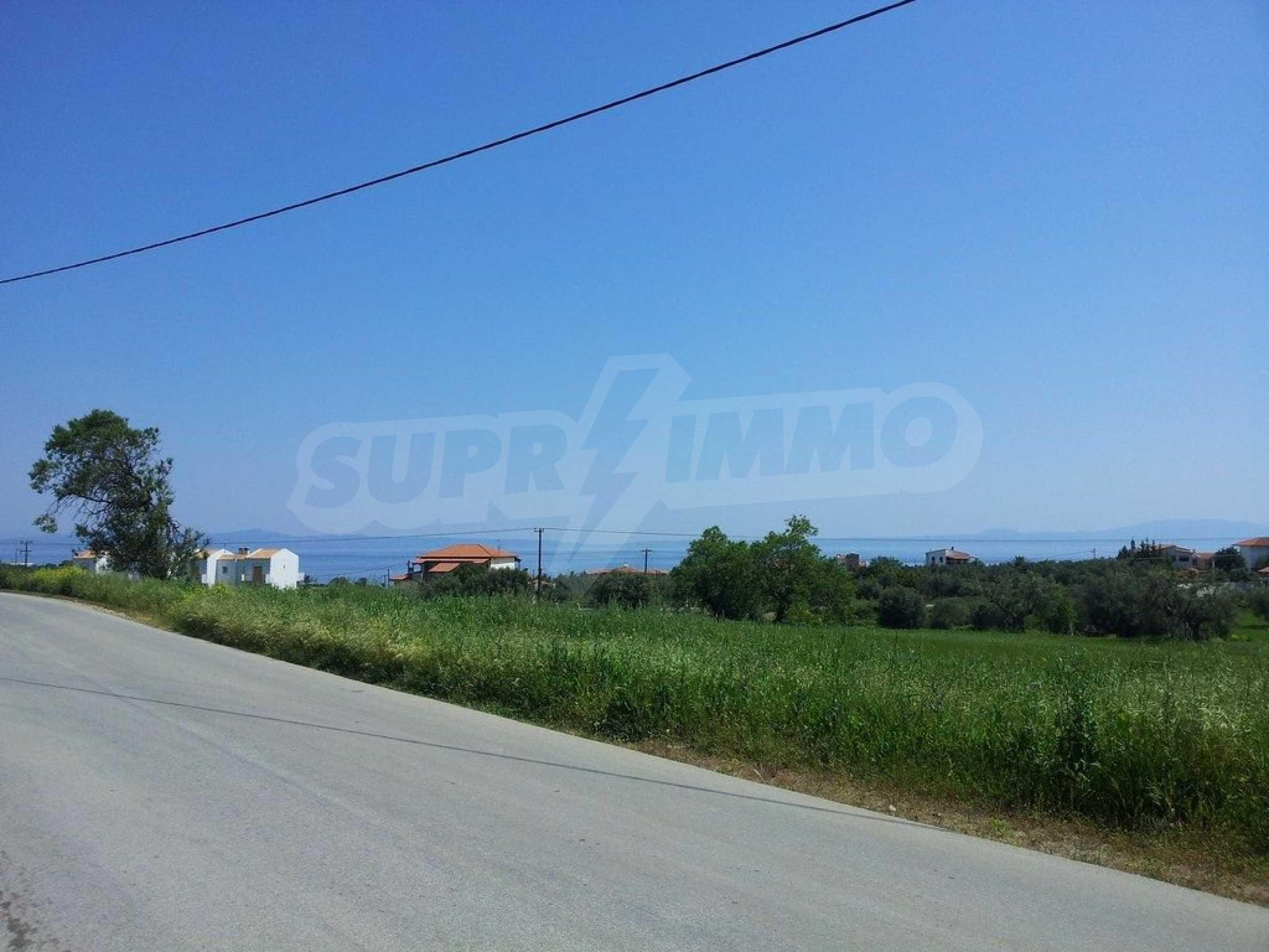 Земеделска земя  в  Афитос 1