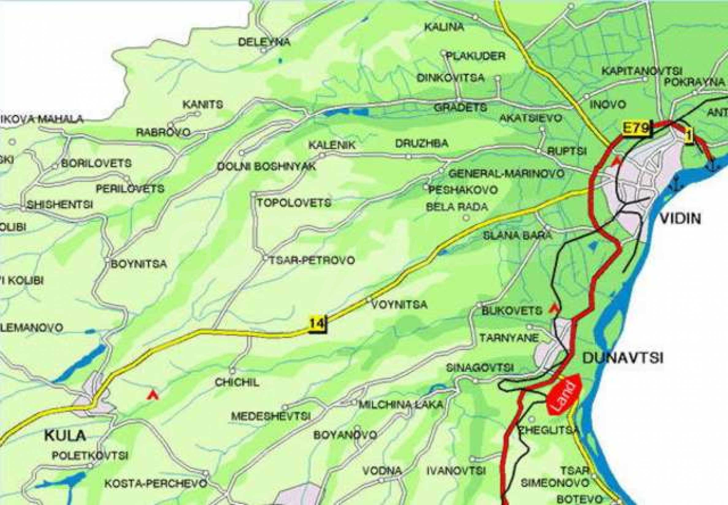 Development land near Vidin 10
