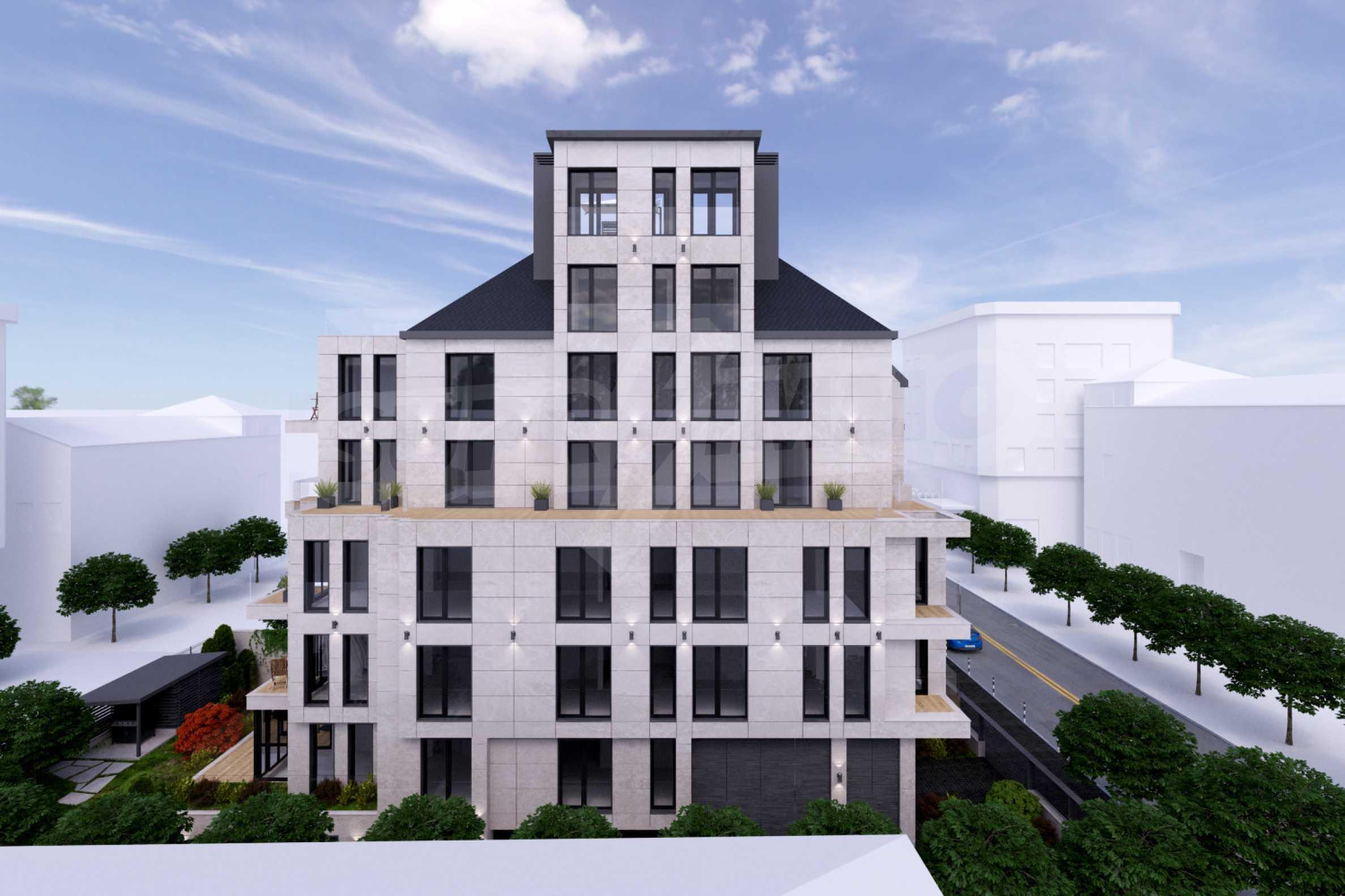 Последни жилища в бутикова сграда с напреднало строителство до УАСГ 10
