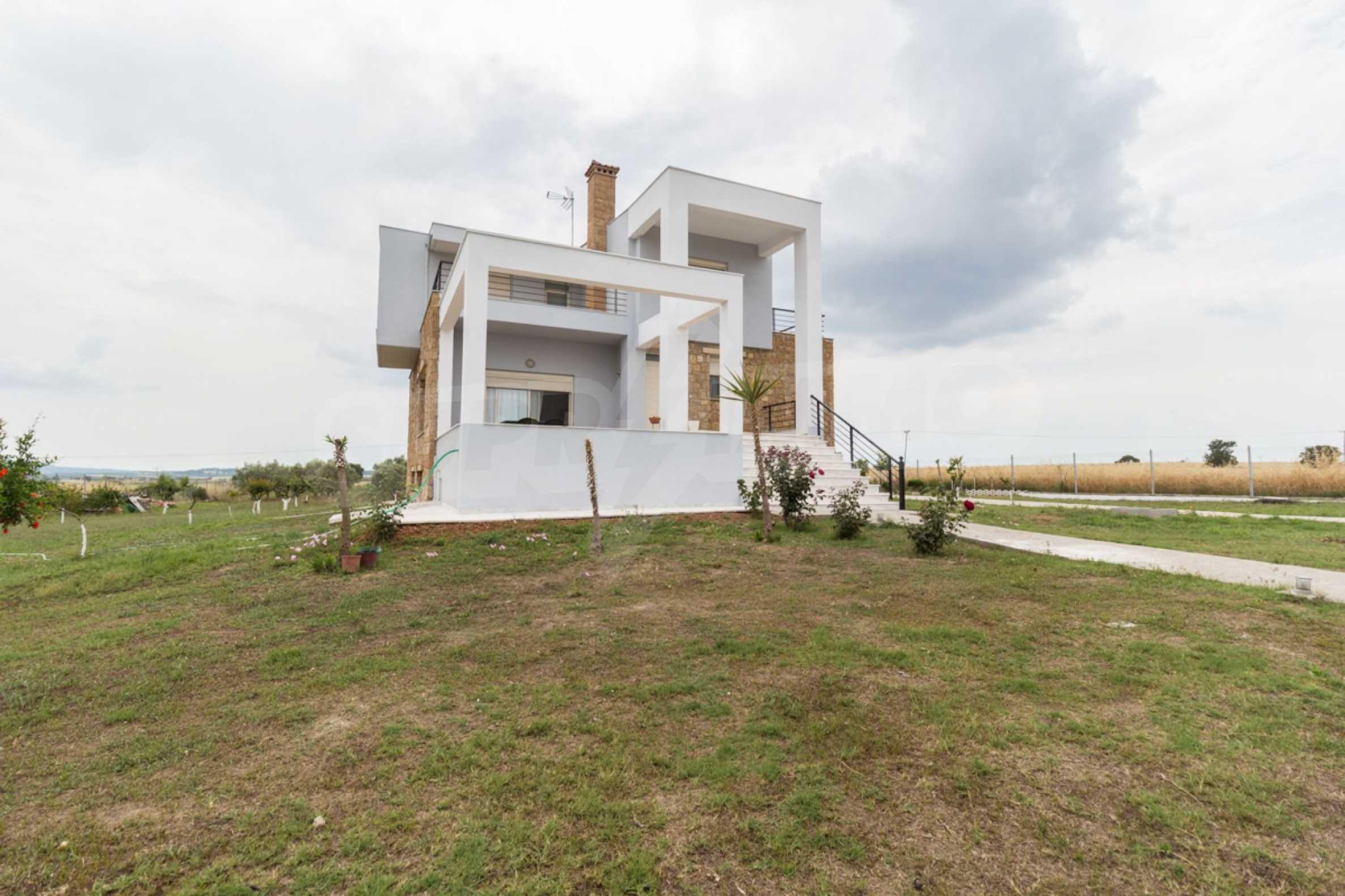 Напълно озаведена къща под наем в Афитос, Касандра 17