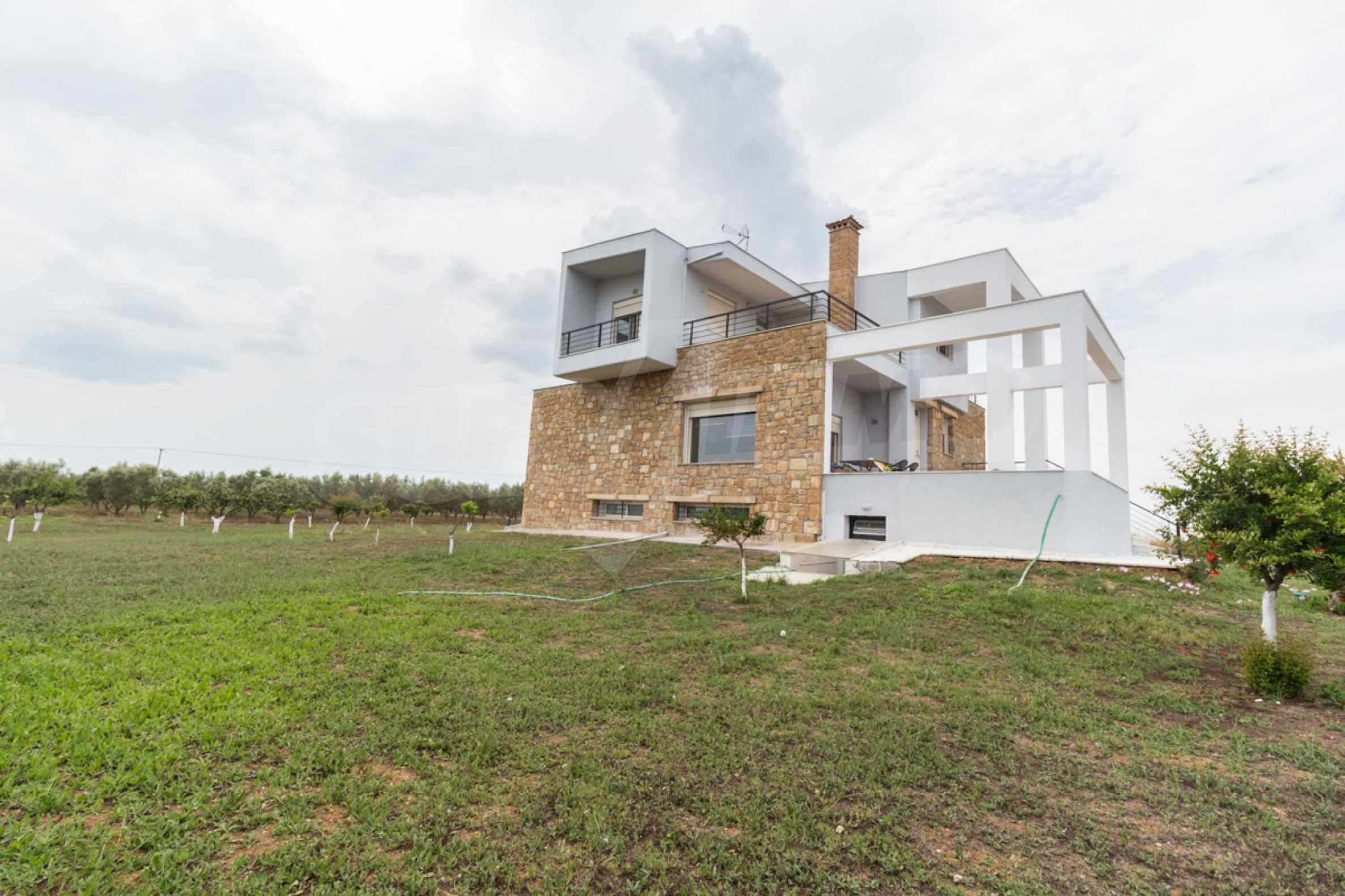 Напълно озаведена къща под наем в Афитос, Касандра 18