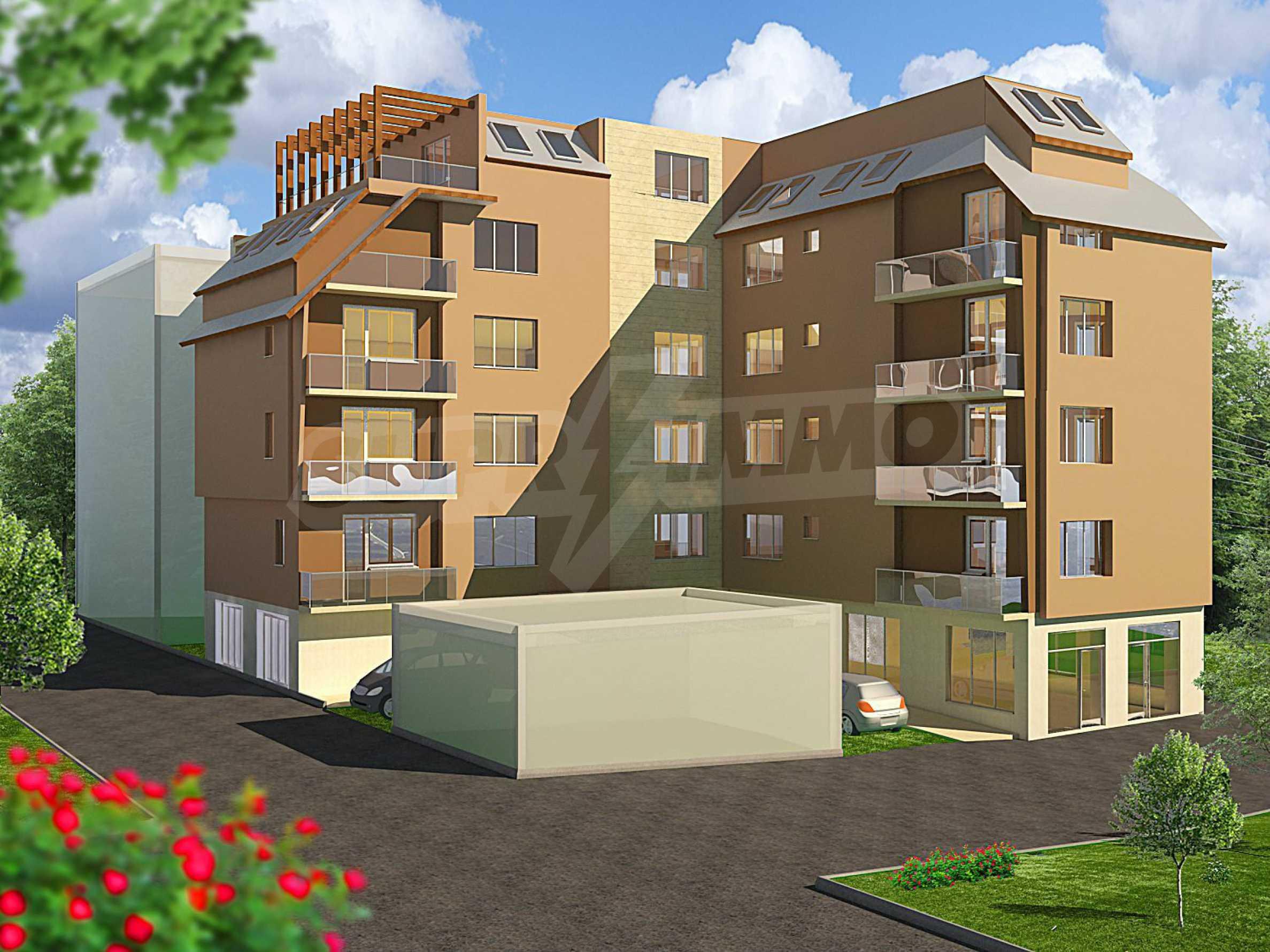 Нова сграда с апартаменти и паркоместа до Икономическия Университет
