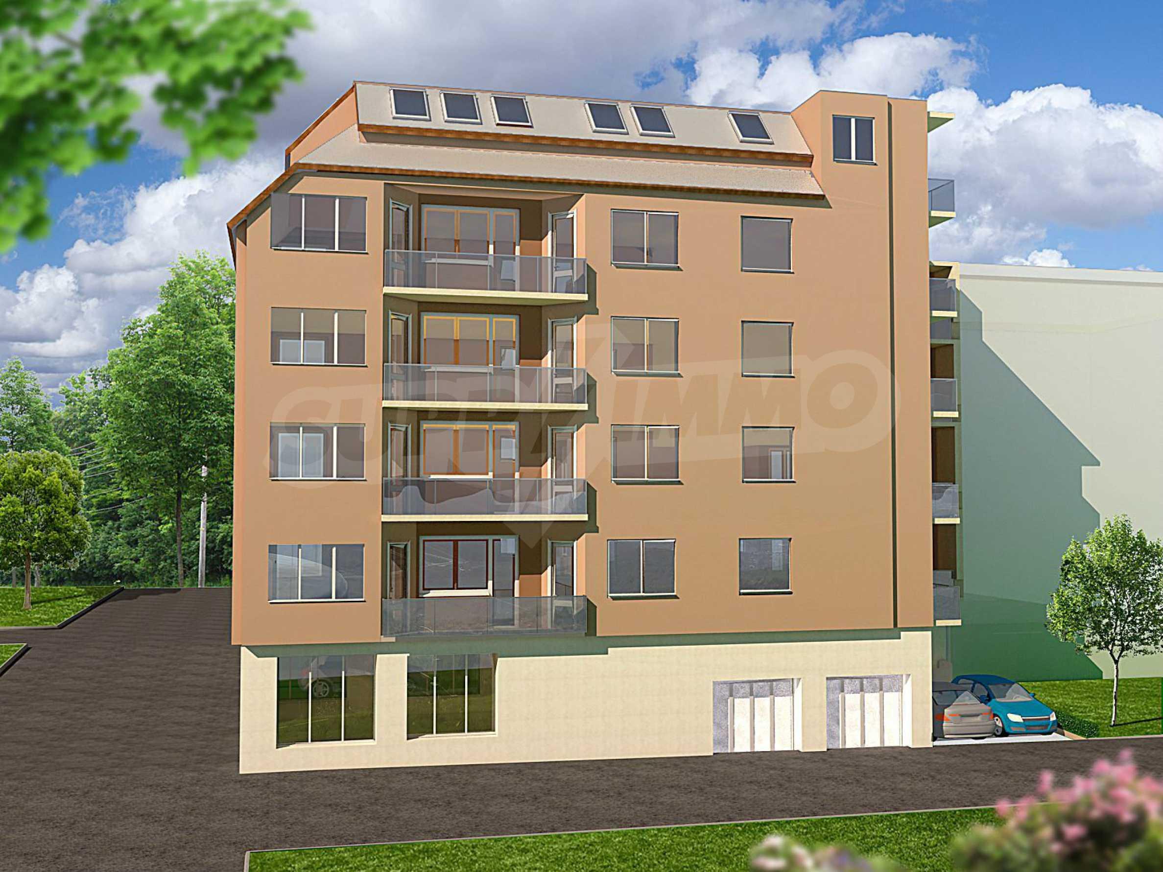 Нова сграда с апартаменти и паркоместа до Икономическия Университет 1