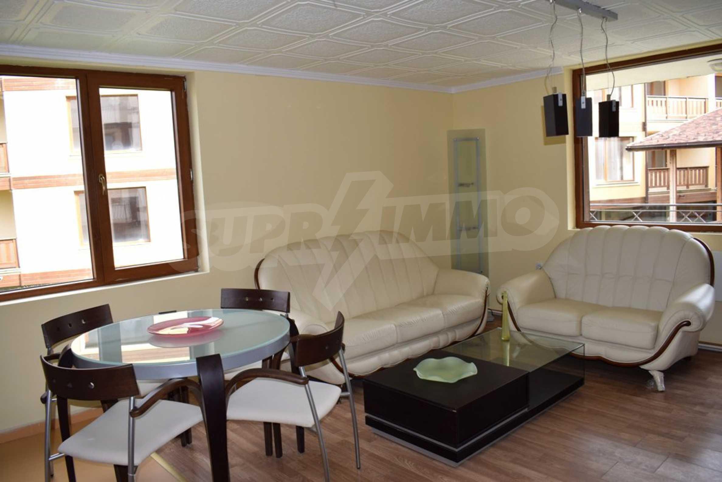 Двустаен, напъно обзаведен апартамент в Банско 5