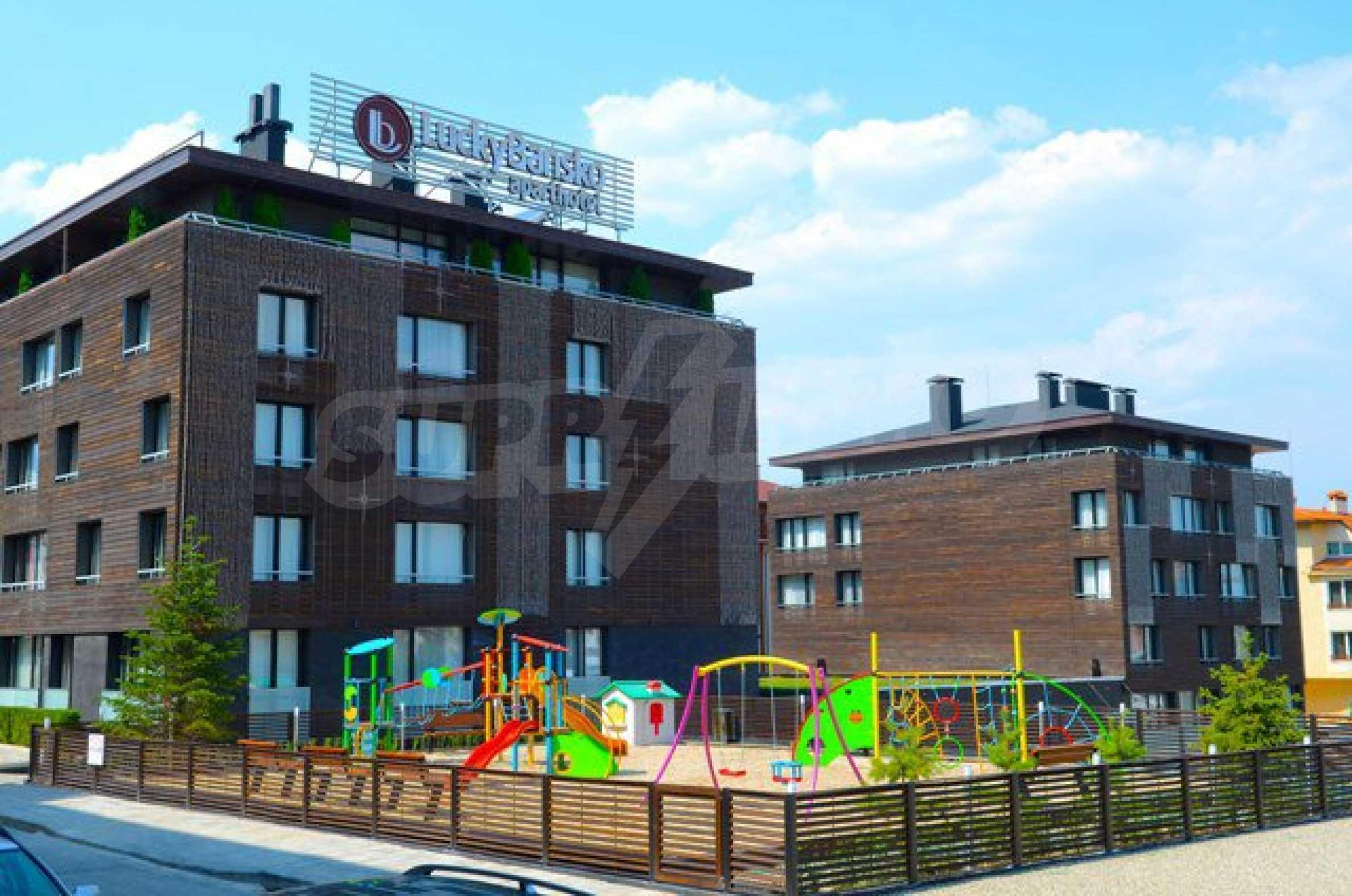 Луксозен апартамент в петзвезден апартхотел в Банско