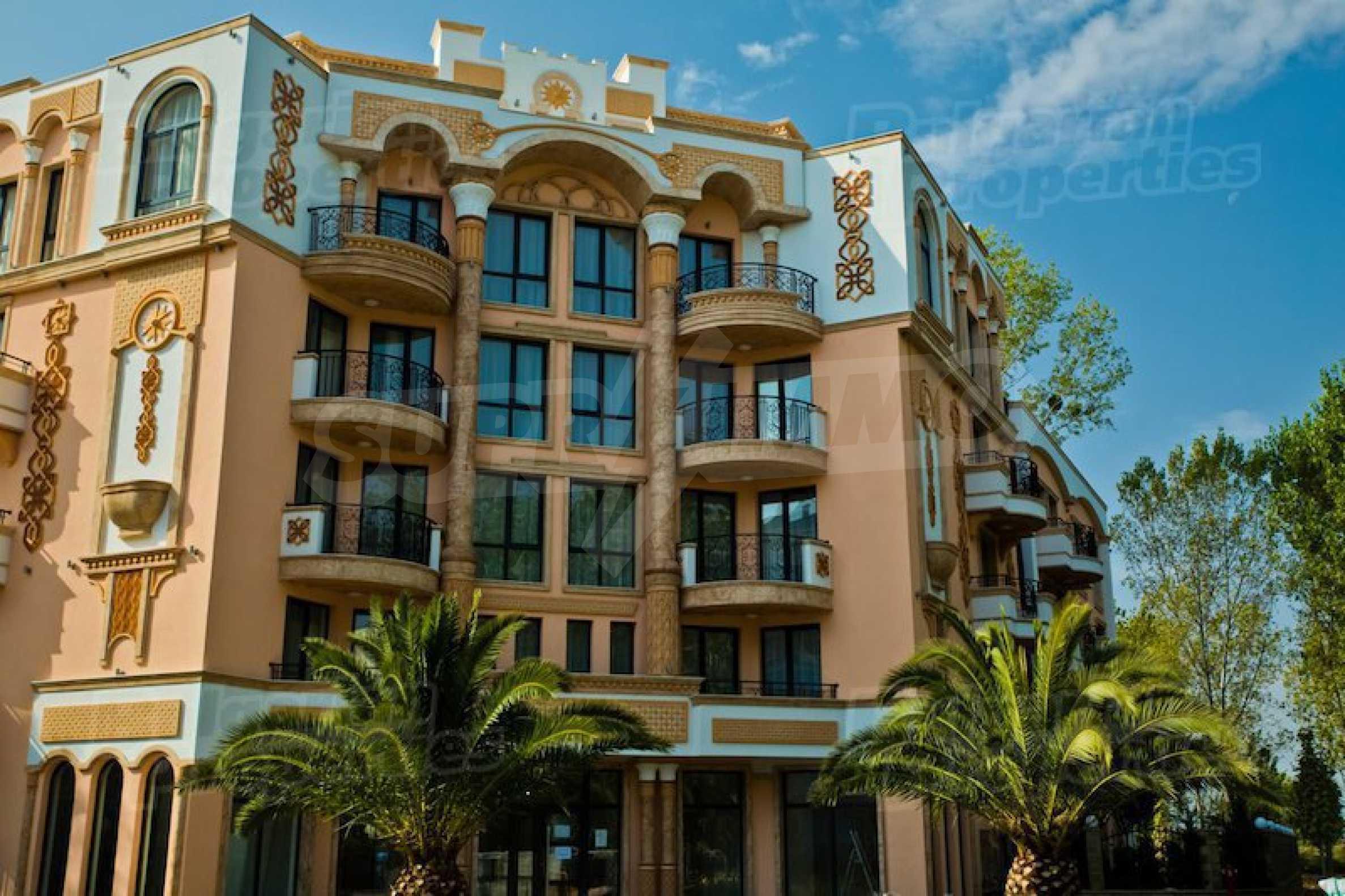 Обзаведен апартамент в спокоен район на Слънчев бряг