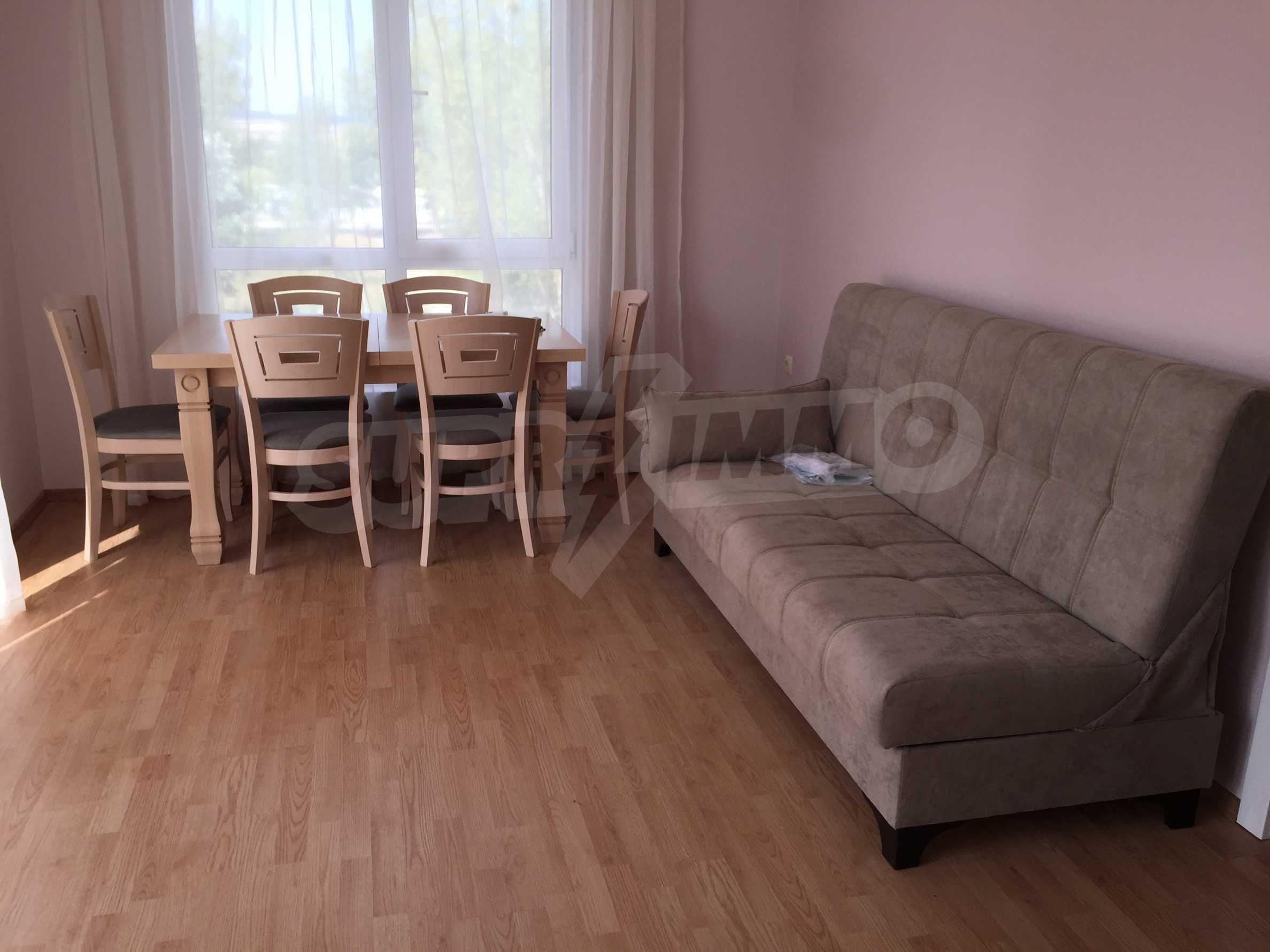 Обзаведен апартамент в спокоен район на Слънчев бряг 7