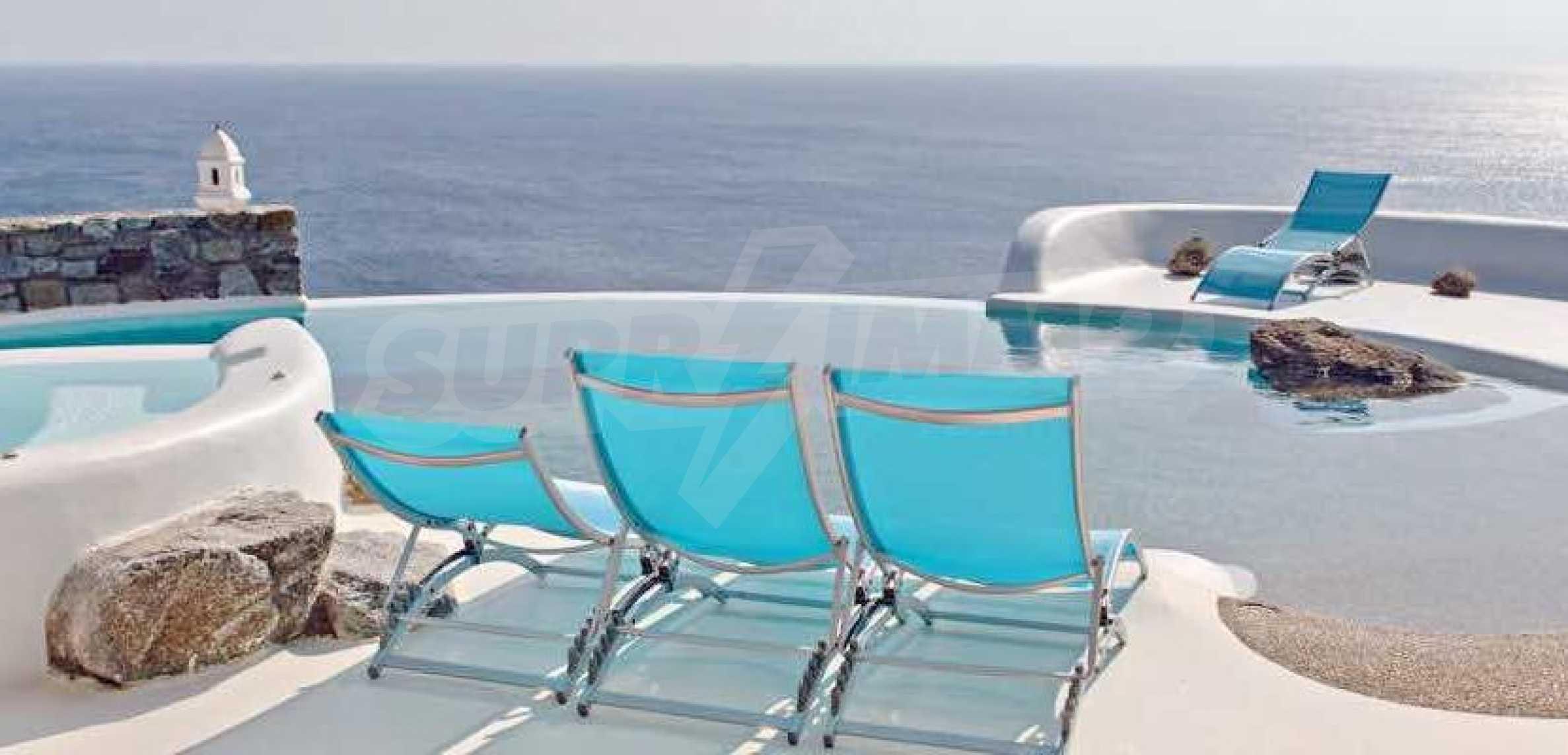 Разкошна вила на морски залив, остров Миконос 12