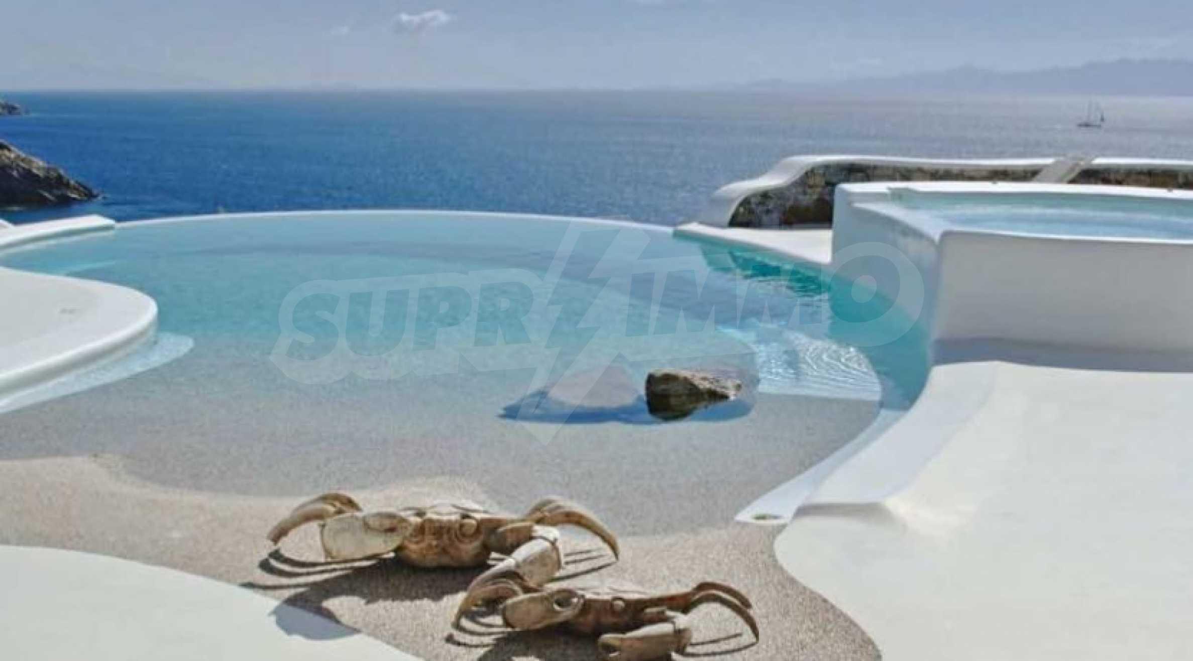 Разкошна вила на морски залив, остров Миконос 2