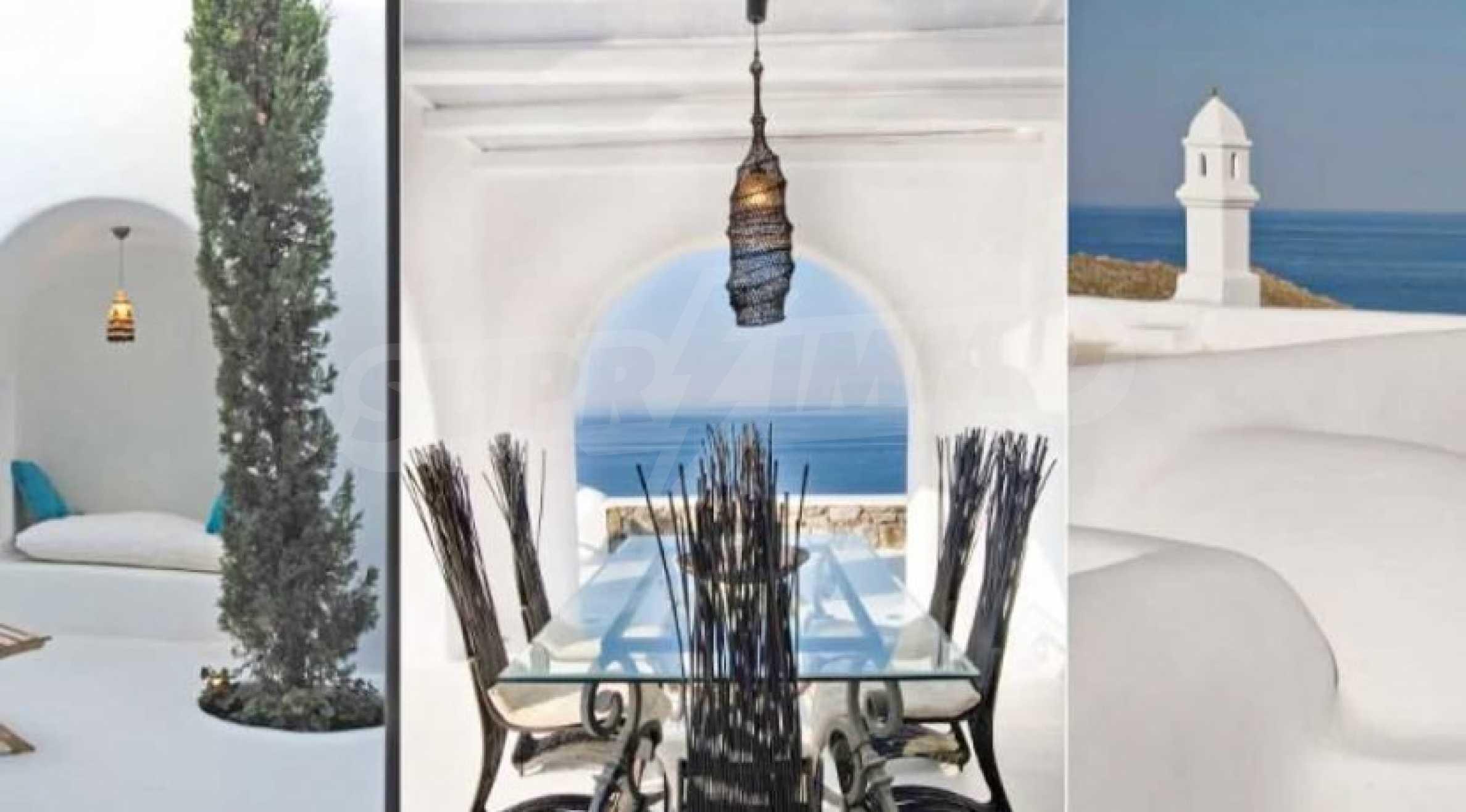 Разкошна вила на морски залив, остров Миконос 3