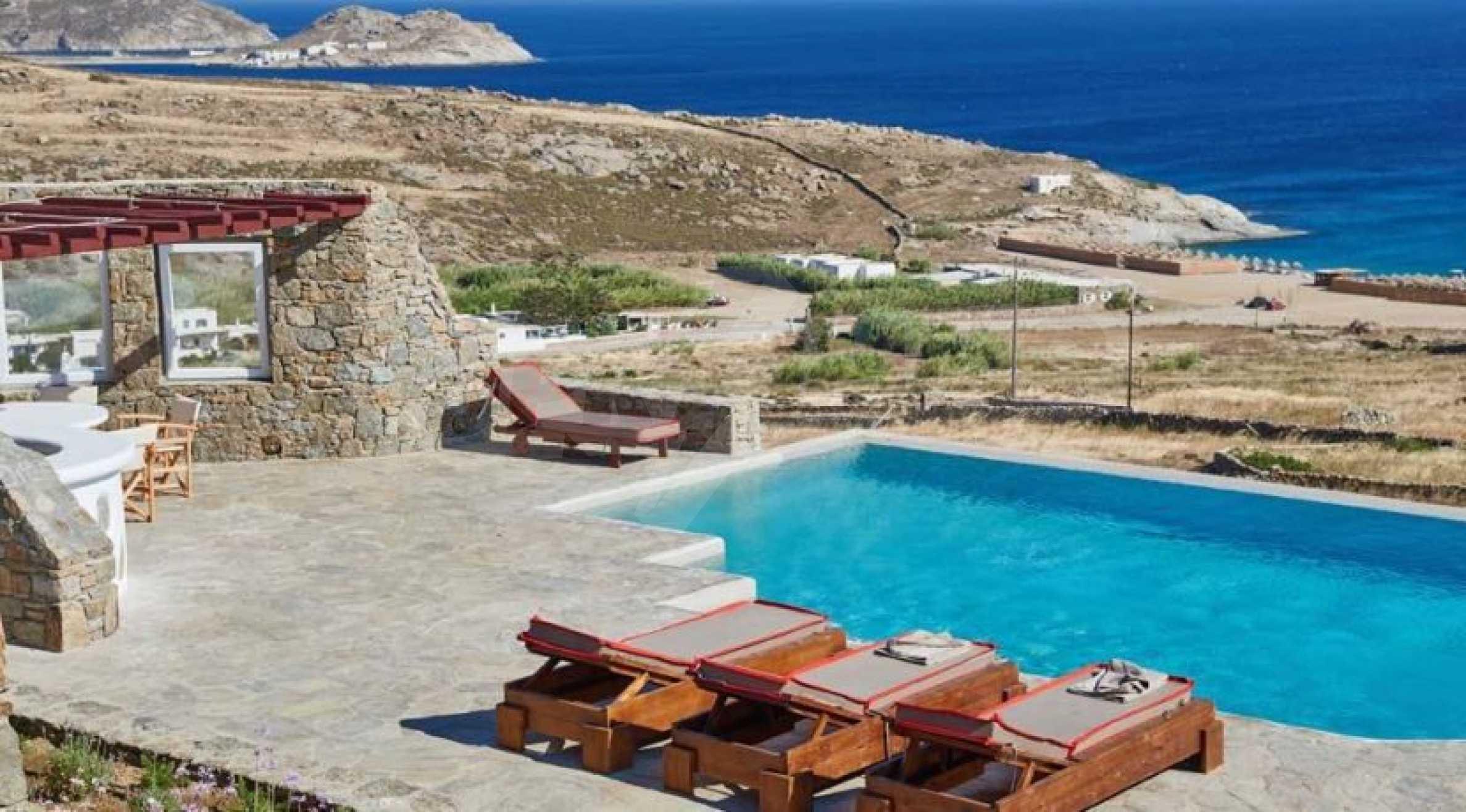 Разкошна вила на топ световна дестинация, остров Миконос 3