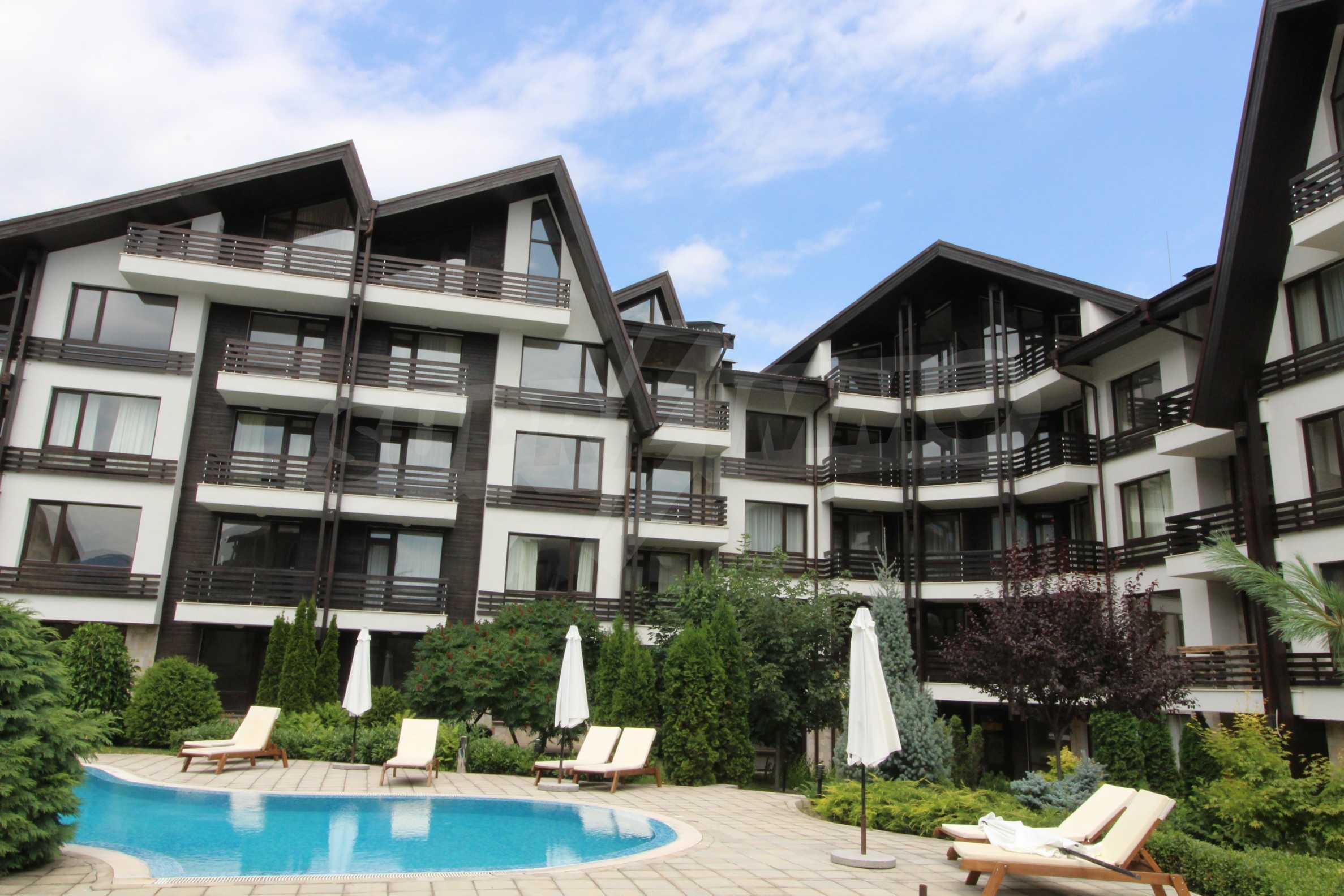Стилен апартамент в близост до ски курорта Банско