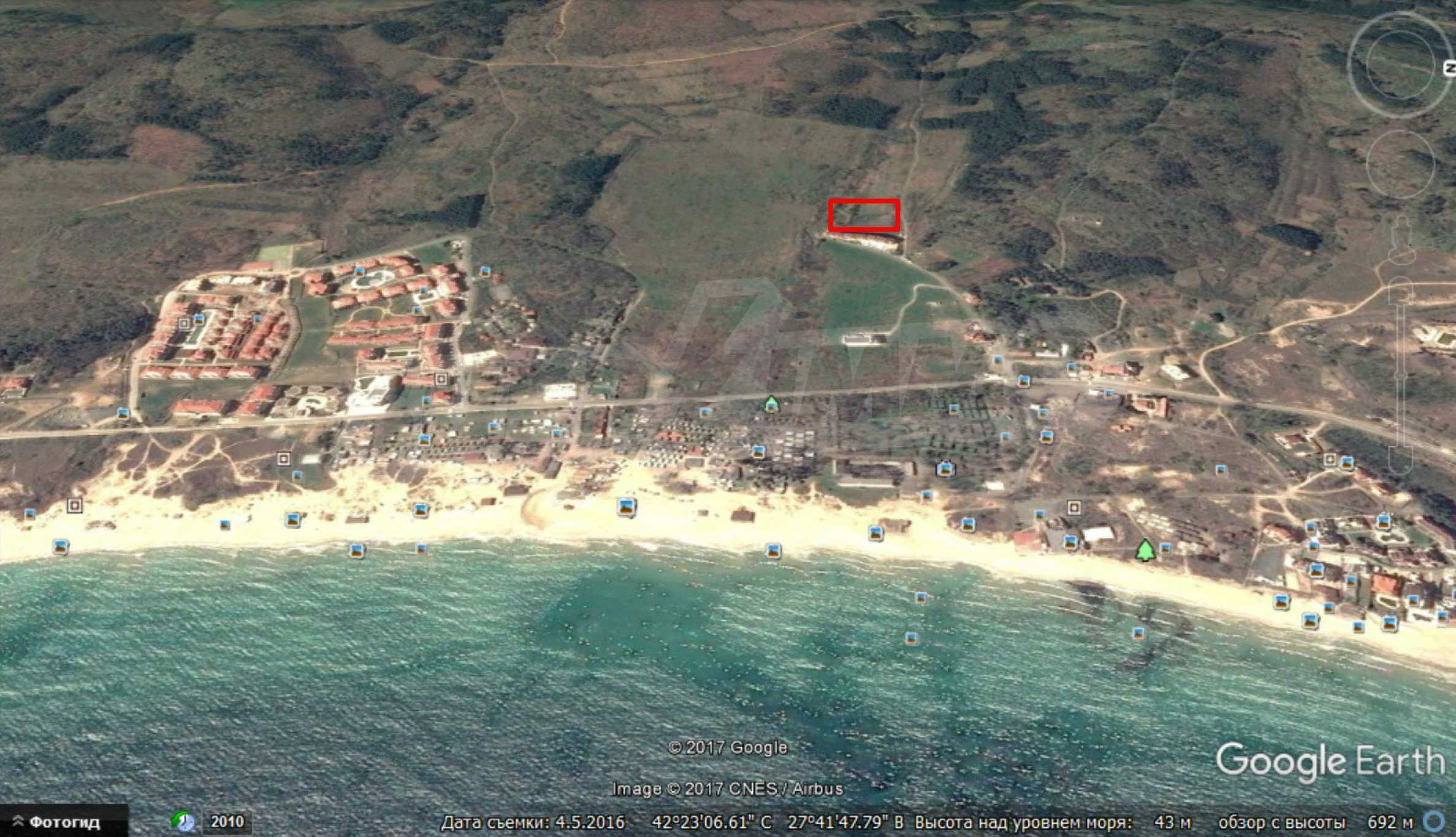 Земя за застрояване в близост до плажа, Созопол 2
