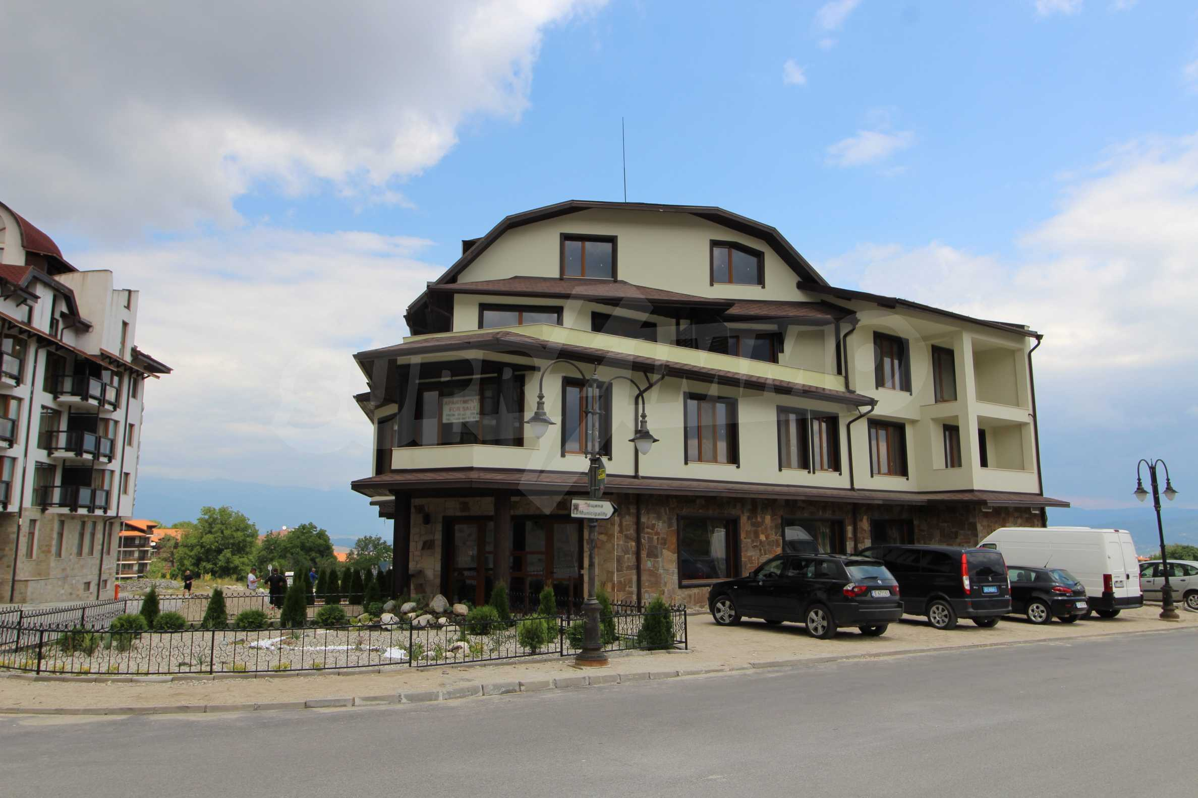 Новопостроена бутикова сграда в гр. Банско