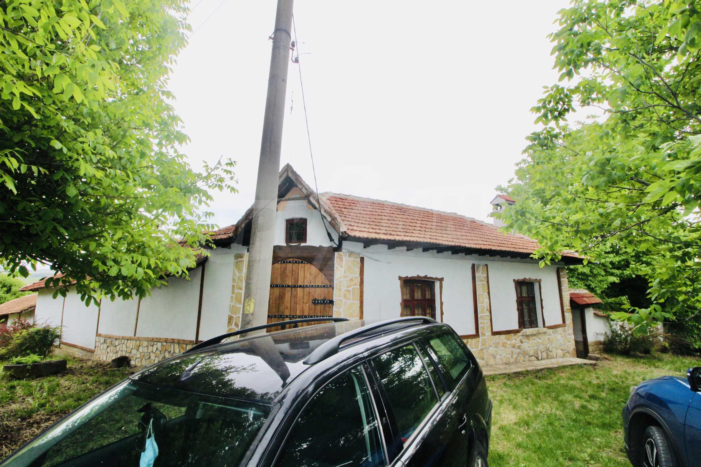 Реновирана къща в село на 45  км от Велико Търново 23