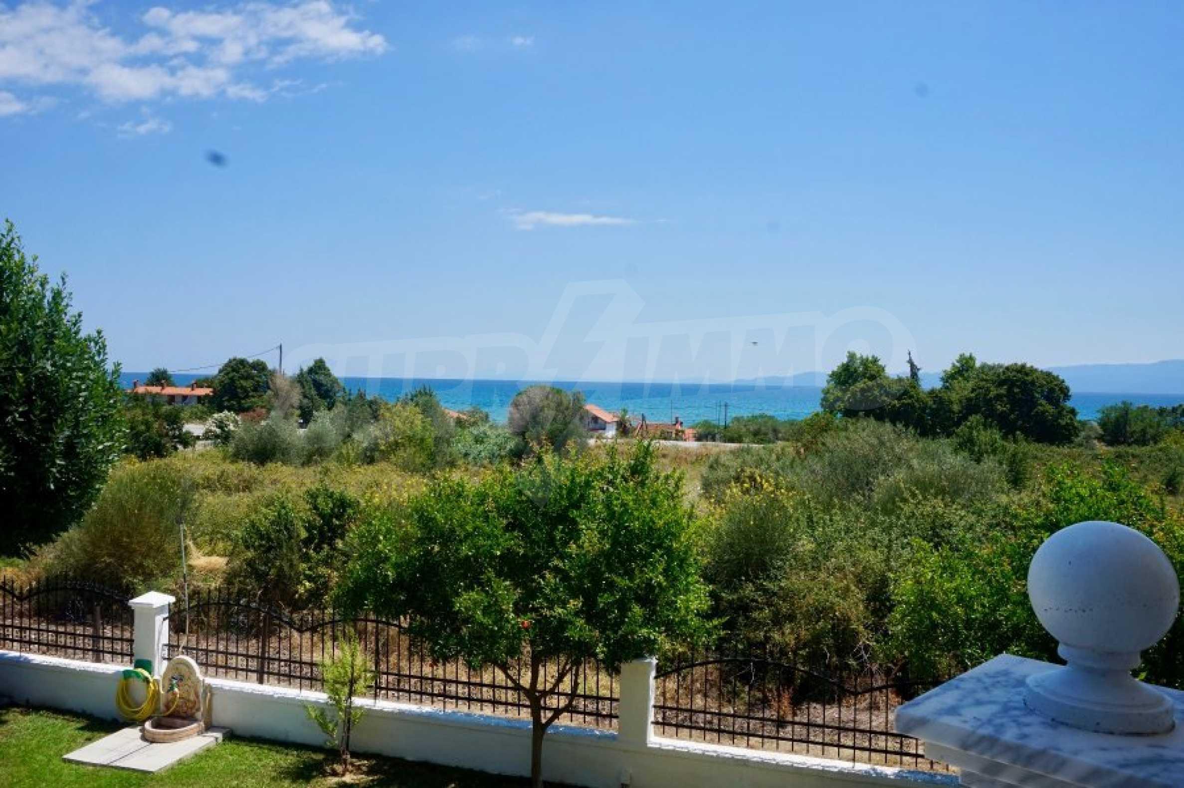 Къща с пет спални и панорамна гледка към морето 43