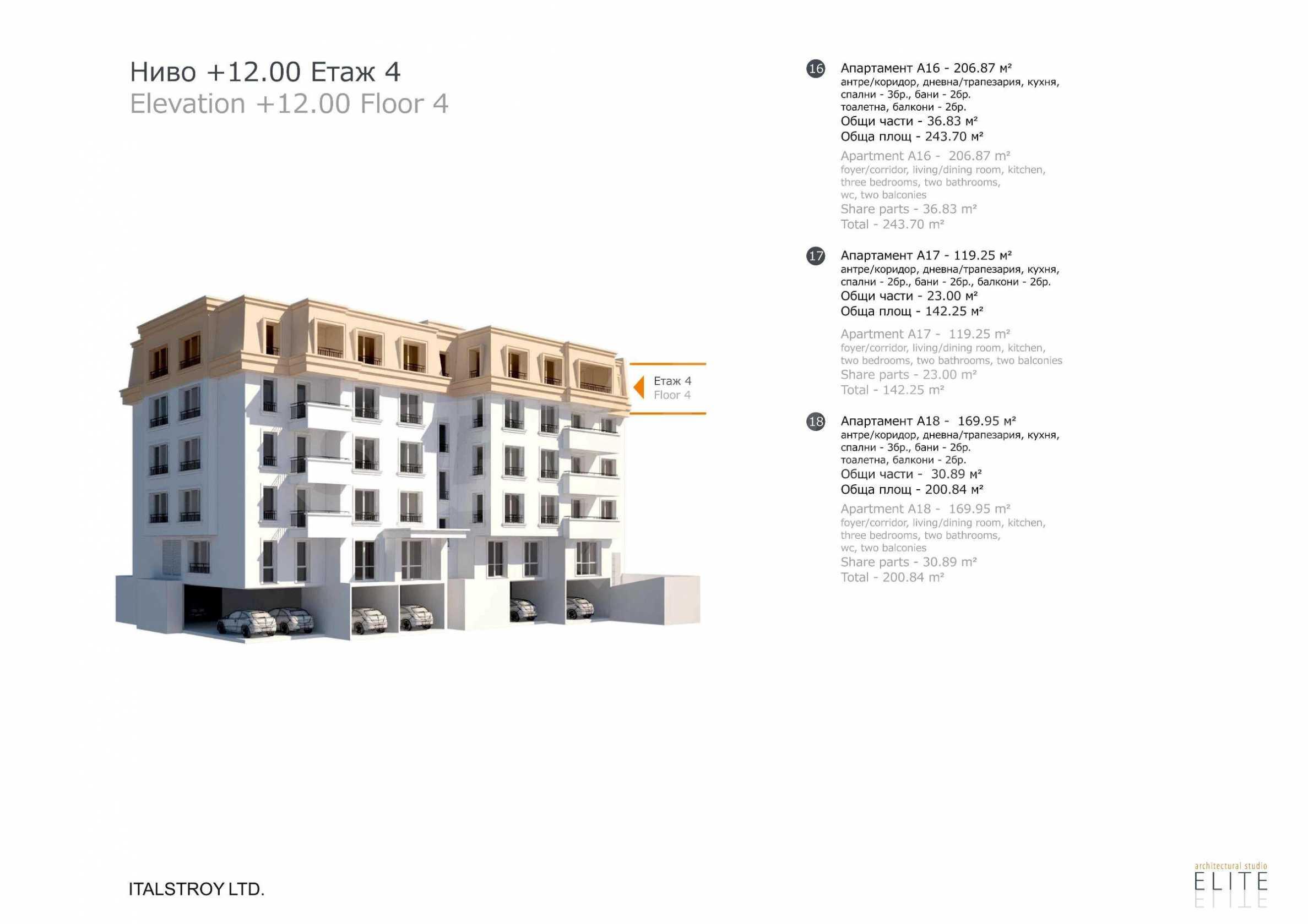 Бутикова сграда в най-комуникативната и зелена част на кв. Лозенец  10