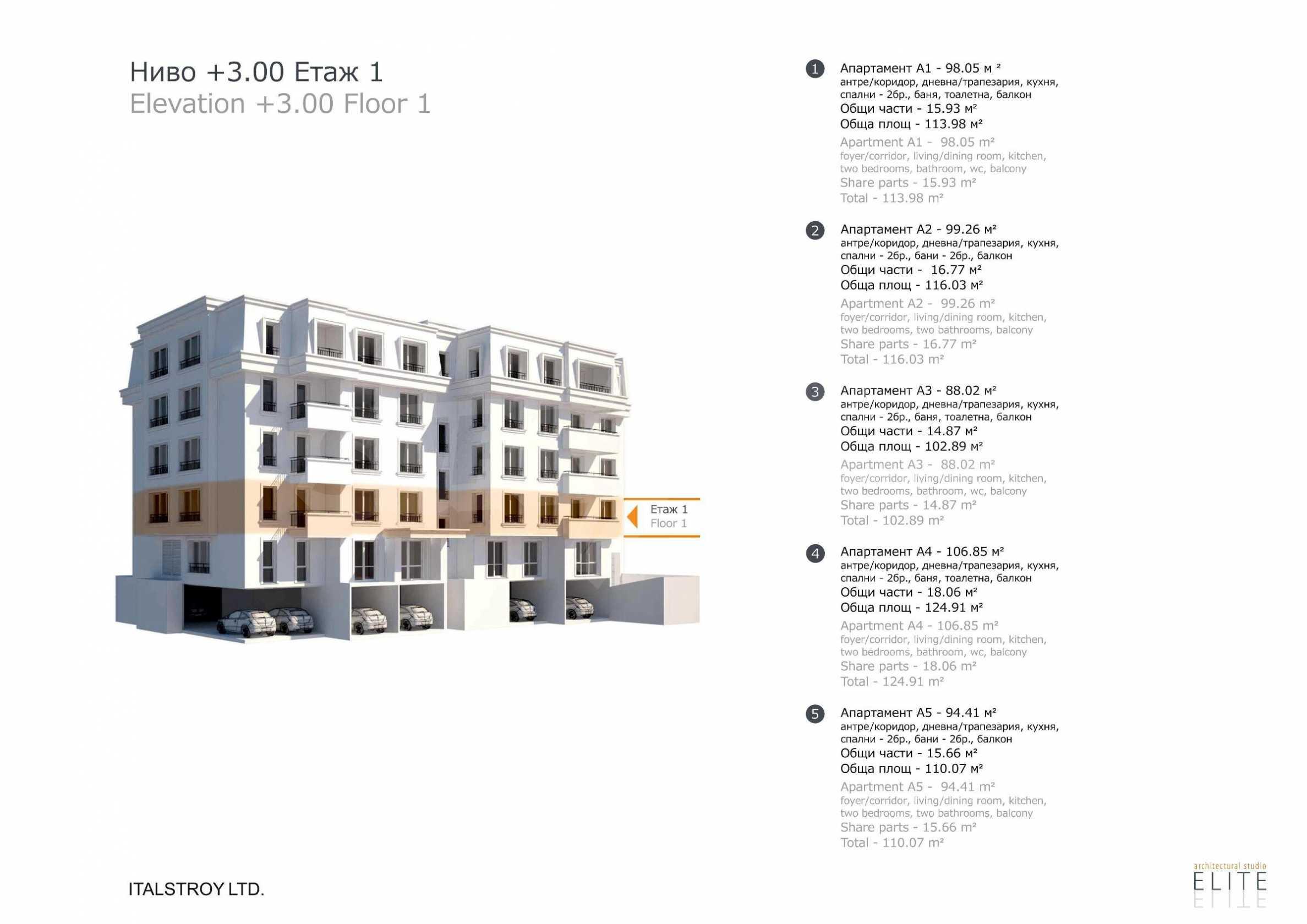 Бутикова сграда в най-комуникативната и зелена част на кв. Лозенец  7