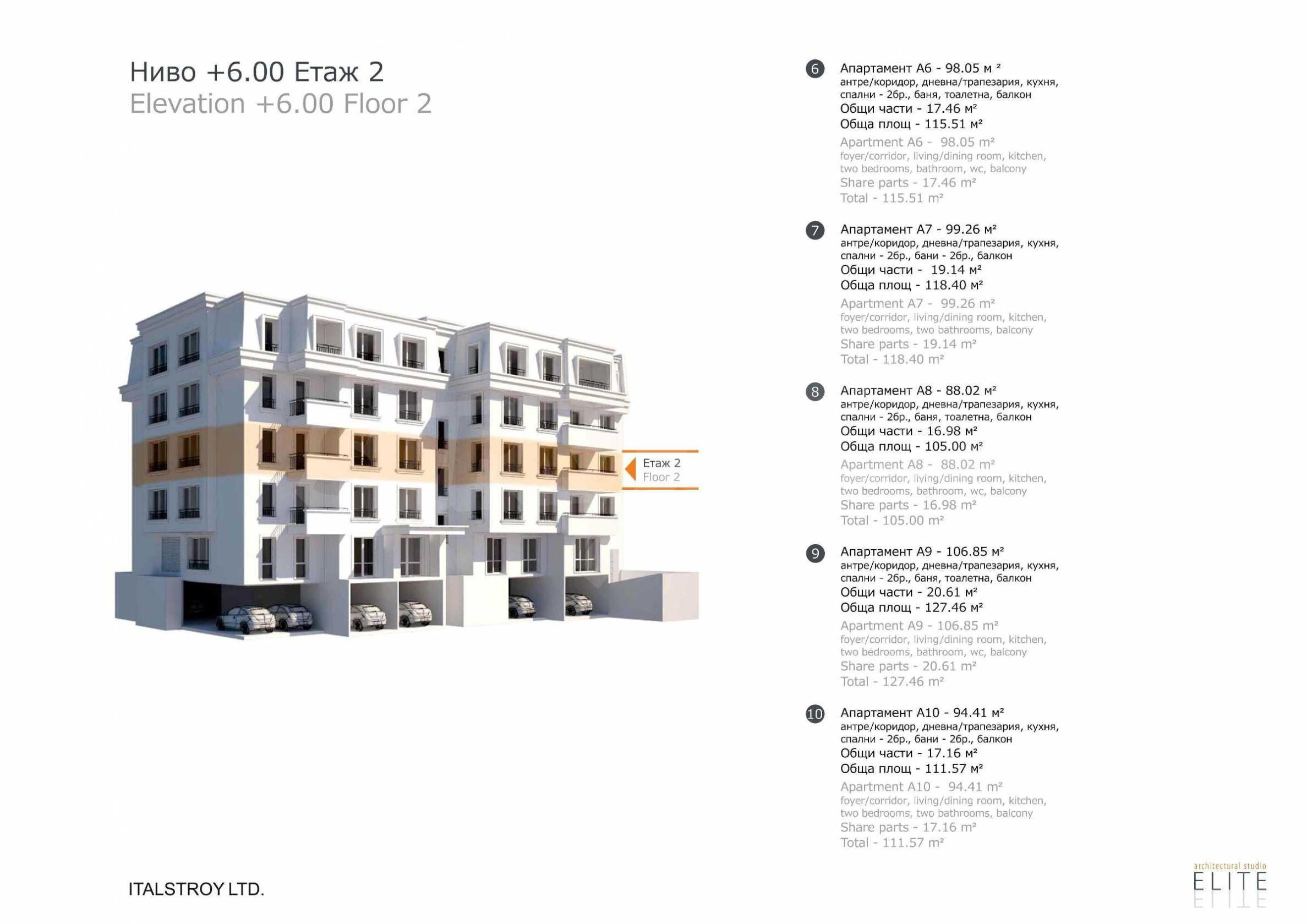 Бутикова сграда в най-комуникативната и зелена част на кв. Лозенец  8