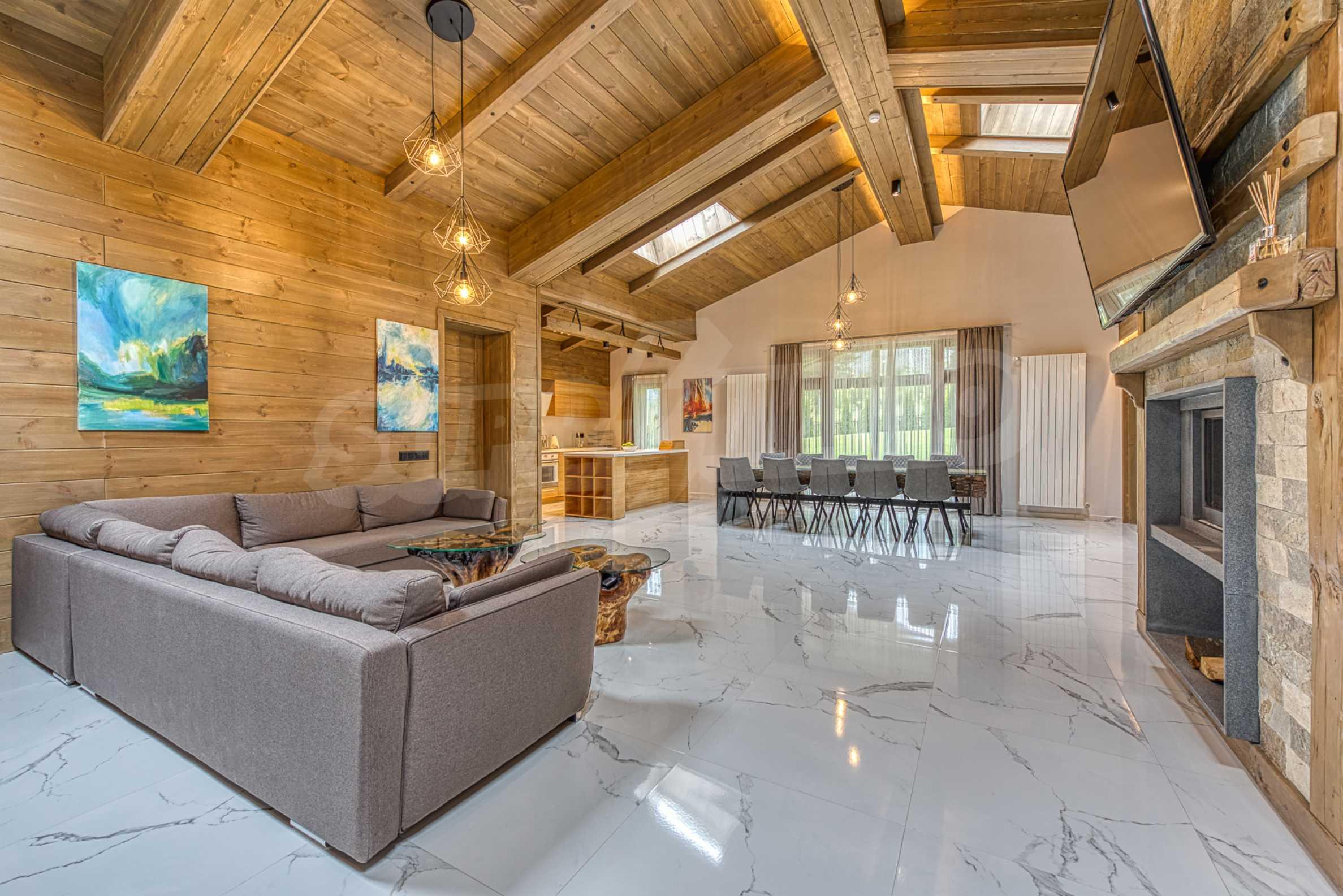 Вилна къща в близост до голф игрище и ски курорт Банско 17
