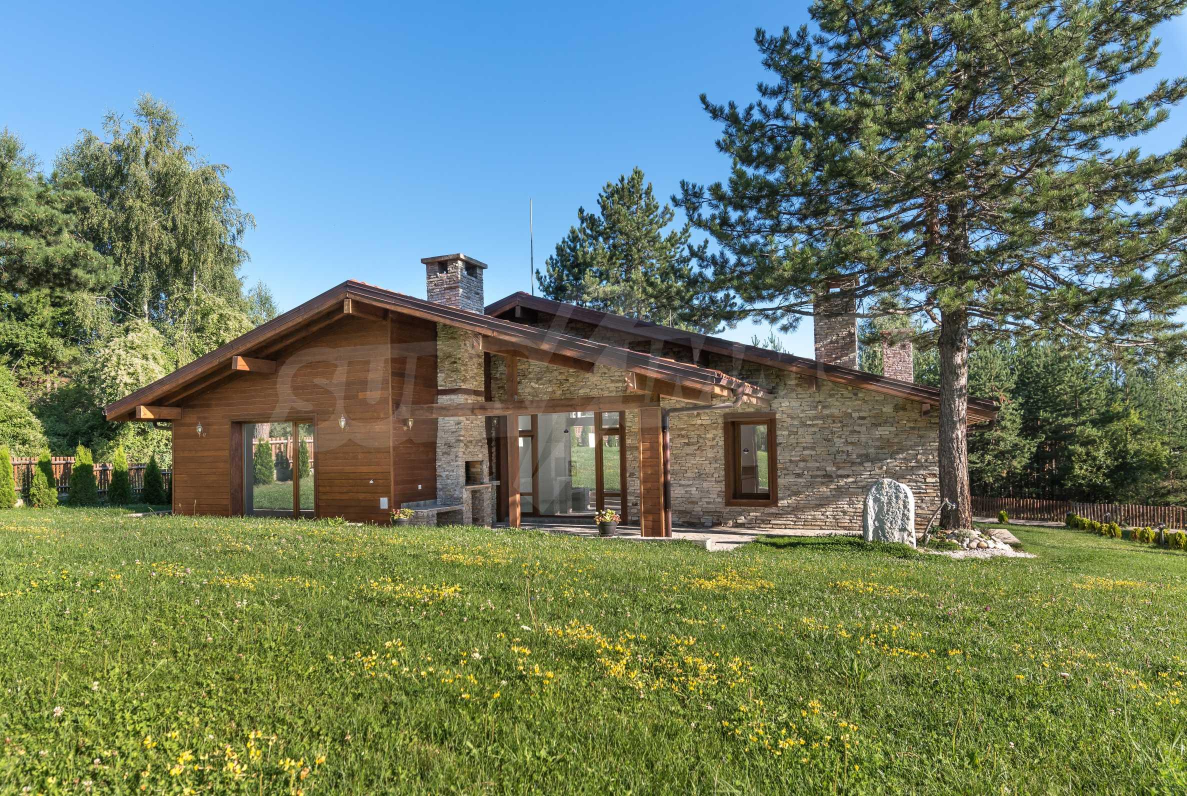 Вилна къща в близост до голф игрище и ски курорт Банско 21