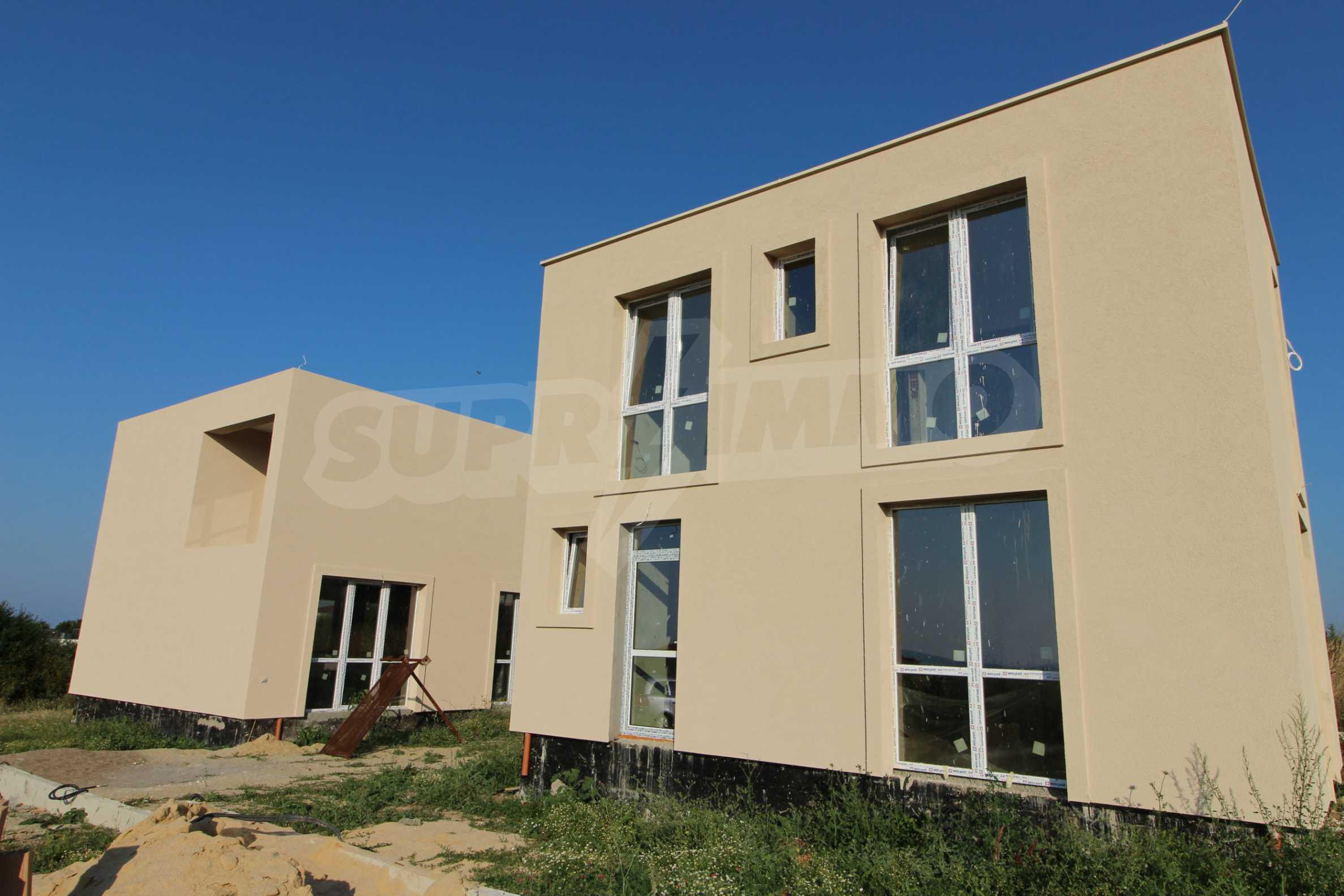 Къща в минималистичен стил, с. Лозенец 2