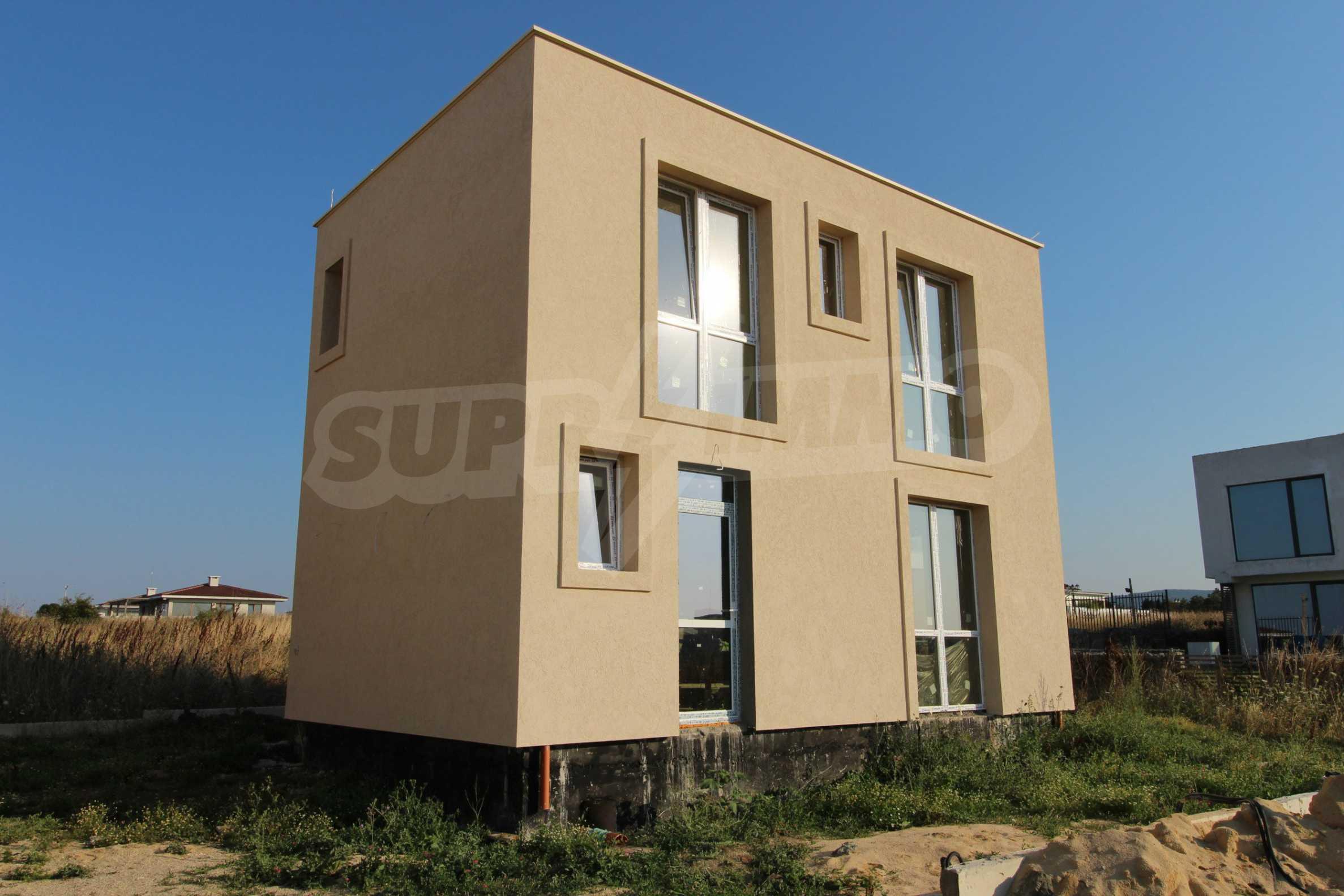 Къща в минималистичен стил, с. Лозенец 4