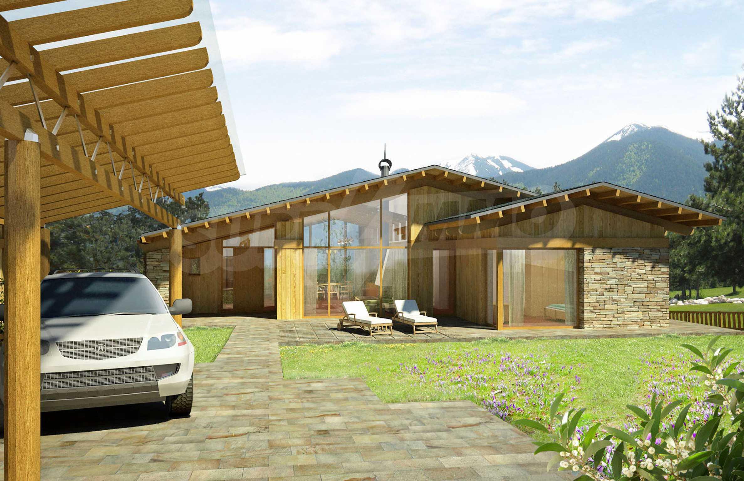Нов квартал с луксозни къщи в голф-комплекс 2