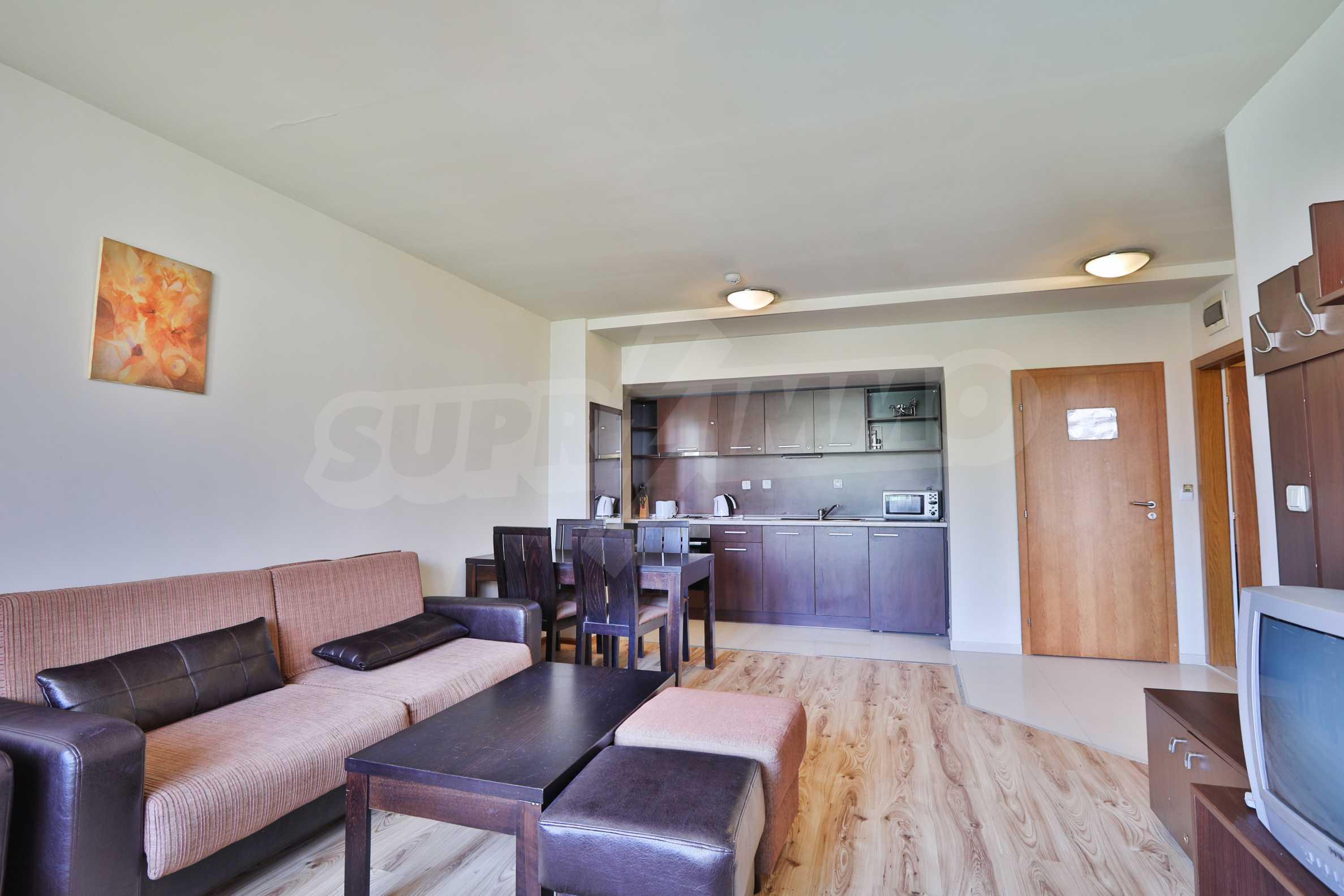 Едноспален апартамент намиращ се в един от най-известните ски курорти - Банско