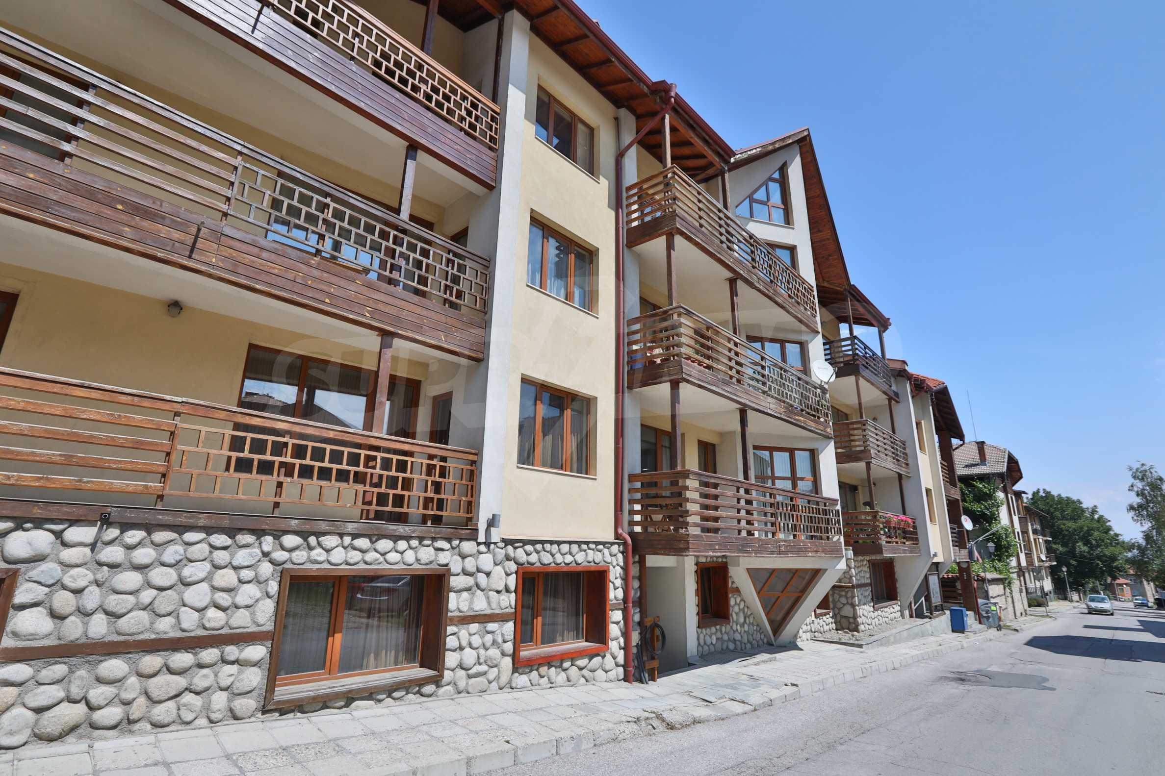 Едноспален апартамент намиращ се в един от най-известните ски курорти - Банско 9