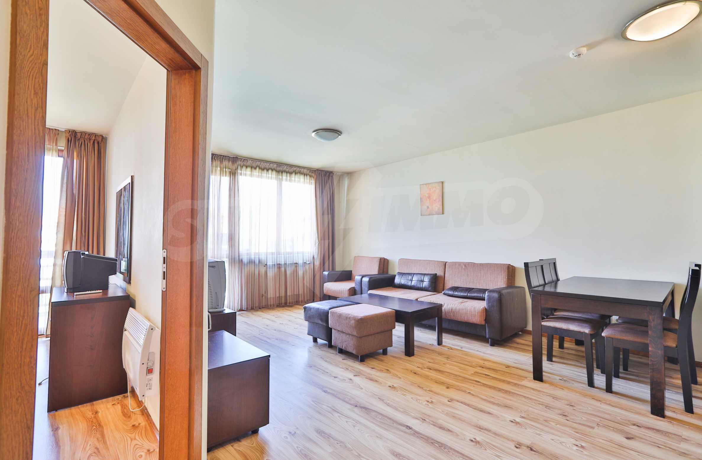 Едноспален апартамент намиращ се в един от най-известните ски курорти - Банско 2