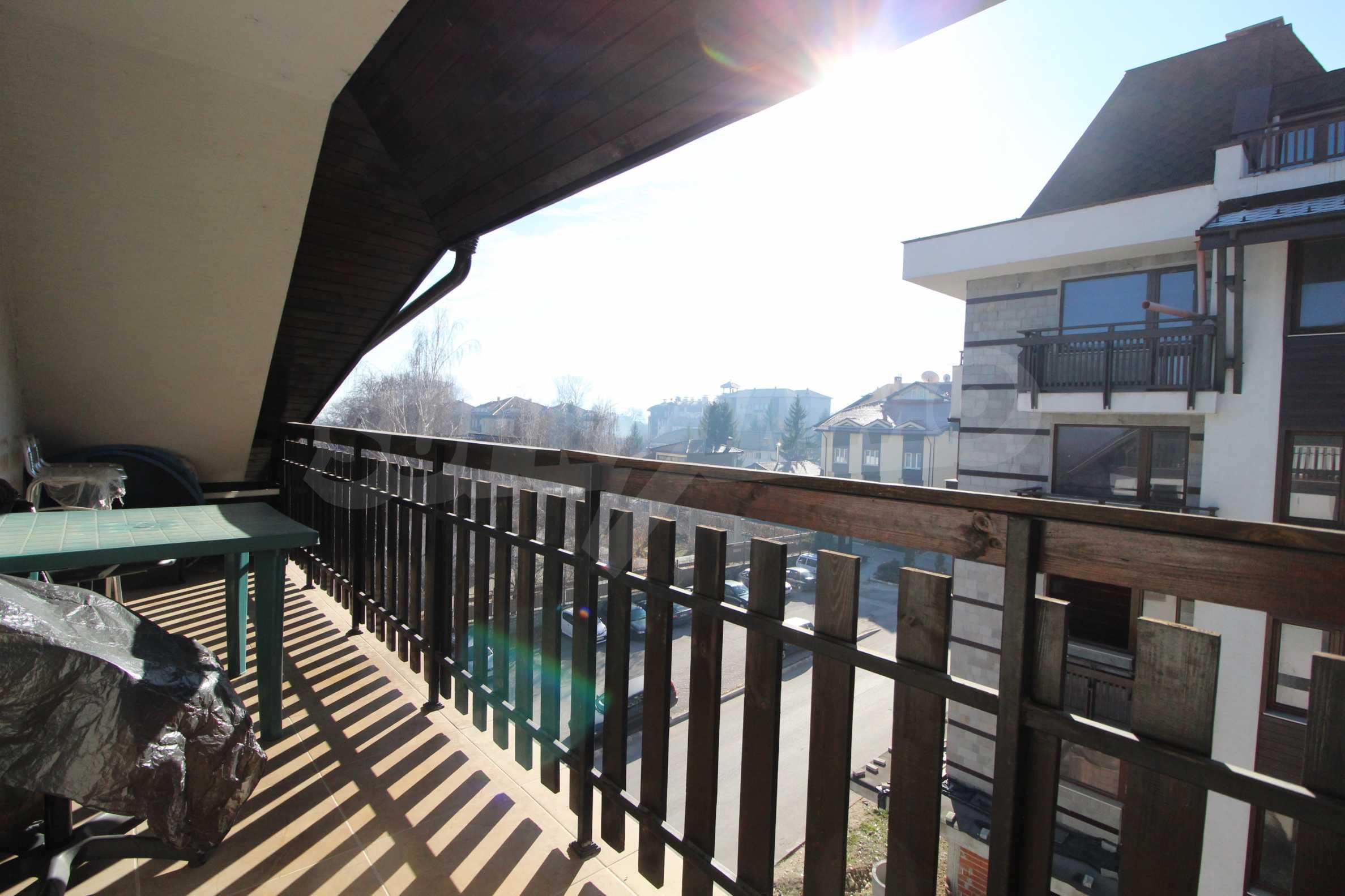 Обзаведен двустаен апартамент в близост до центъра на Банско 17