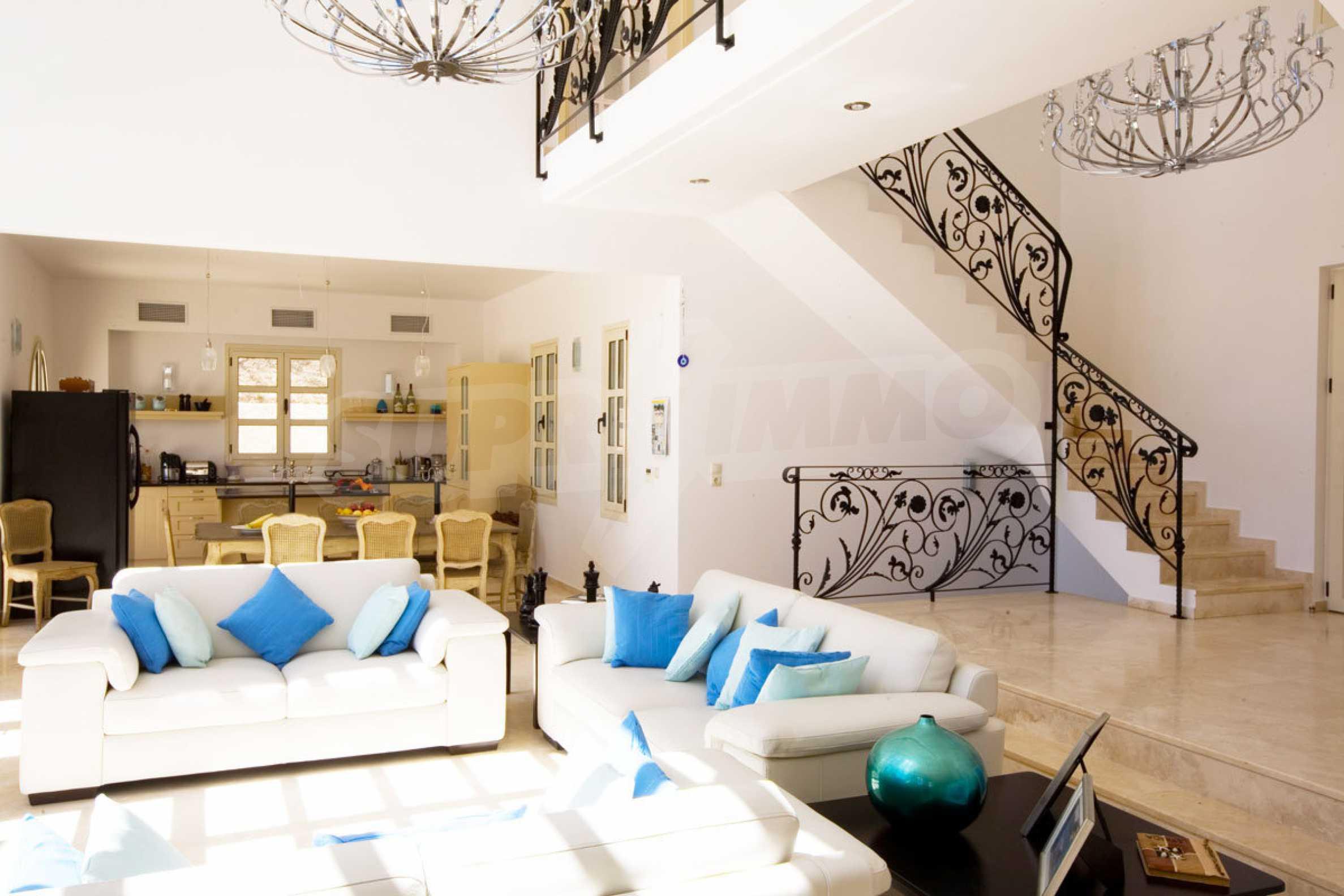 Luxury house with unique architecture in Vasiliki of Lefkada 2