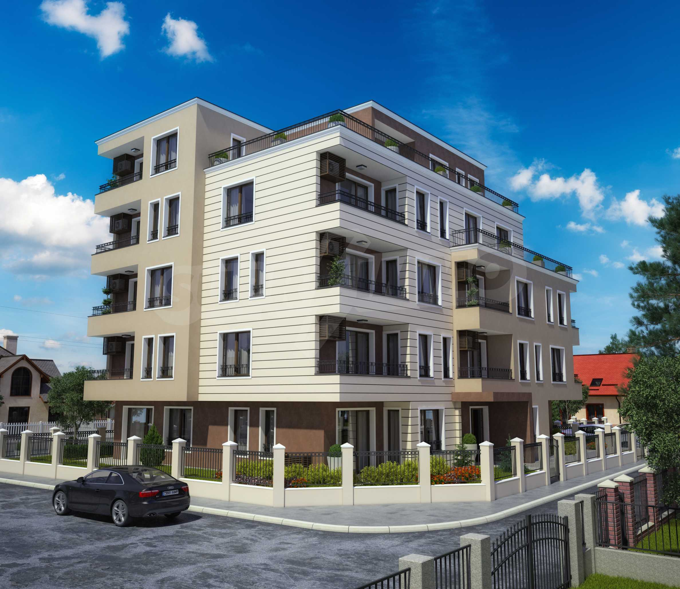 Apartments im Neubau-Gebäude in Rawda