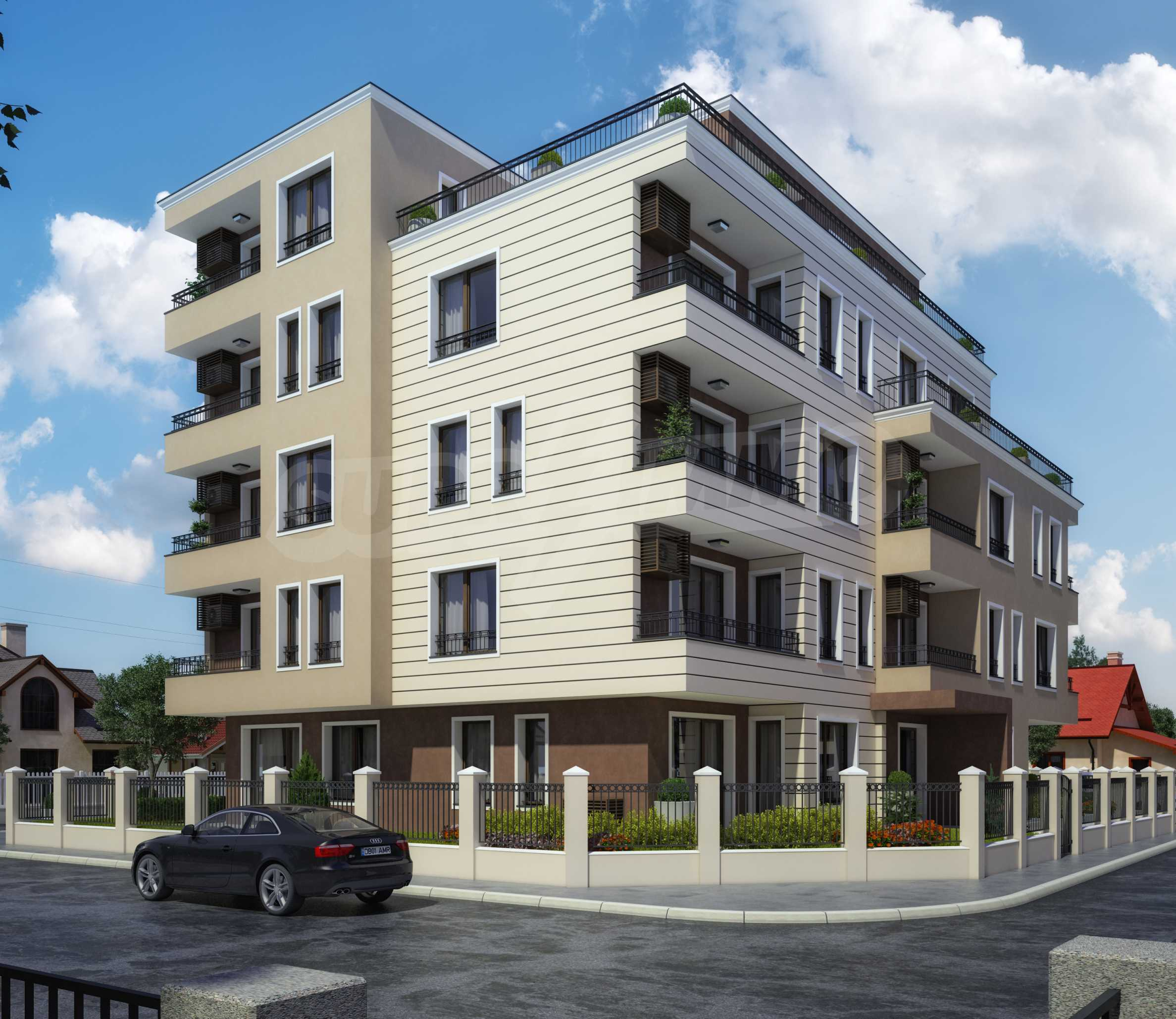 Apartments im Neubau-Gebäude in Rawda 4