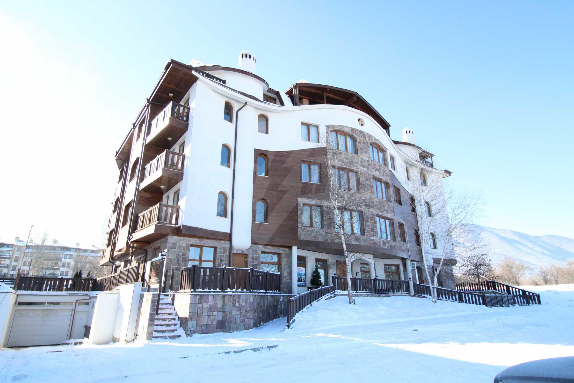 Уютен, едноспален апартамент намиращ се в комплекс Highland Lodge