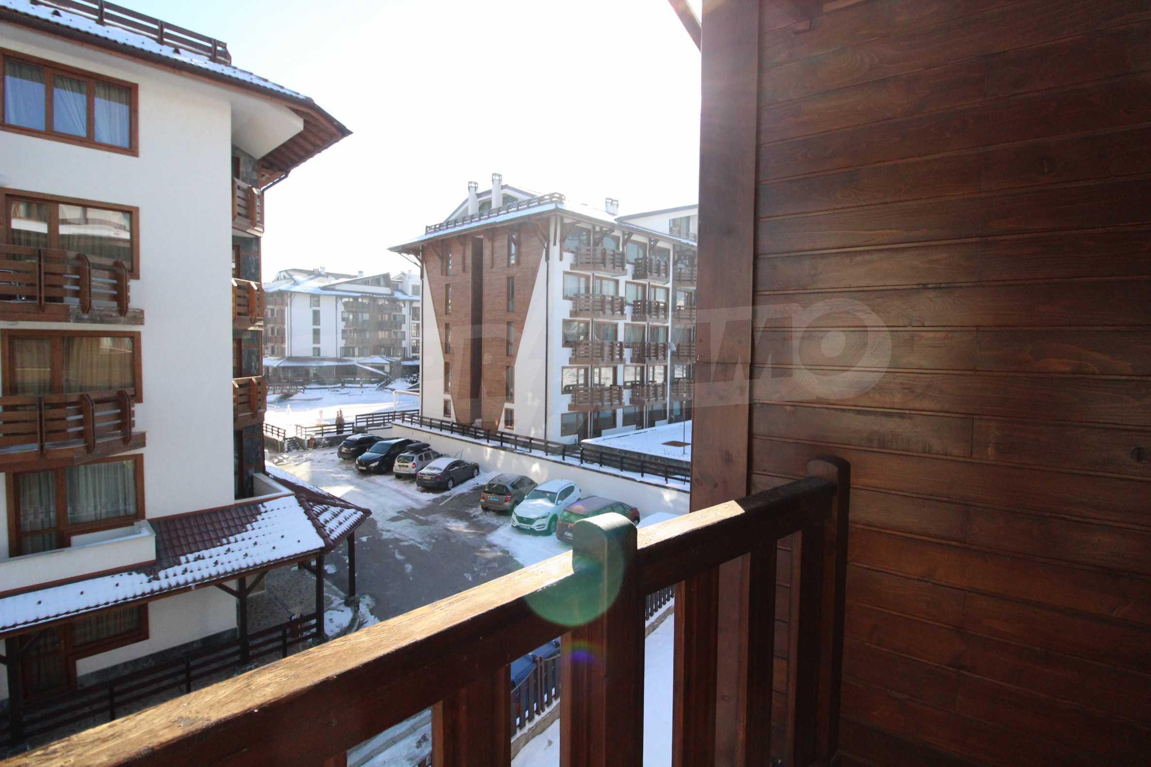 Уютен, едноспален апартамент намиращ се в комплекс Highland Lodge 18