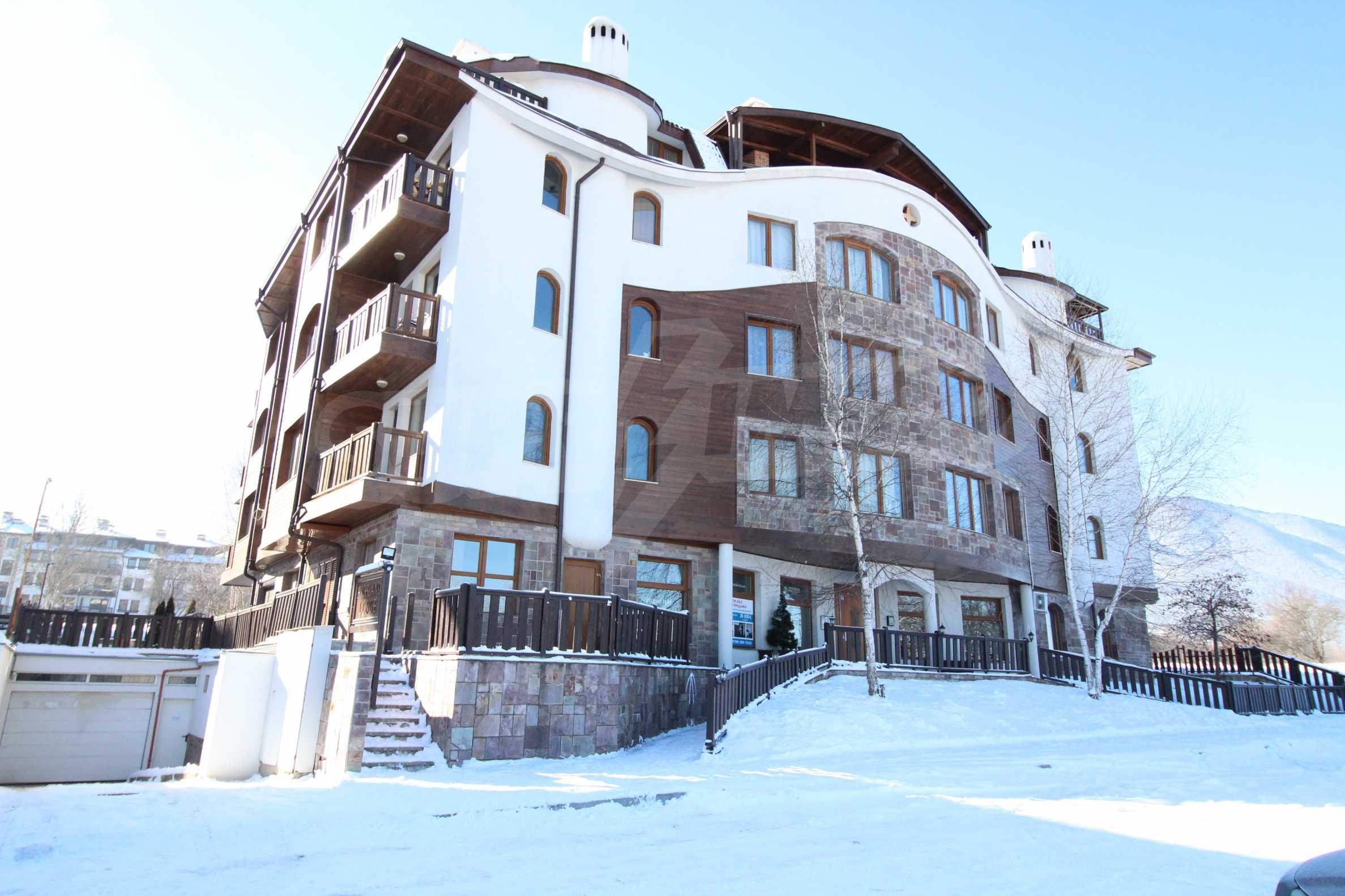 Уютен, едноспален апартамент намиращ се в комплекс Highland Lodge 1