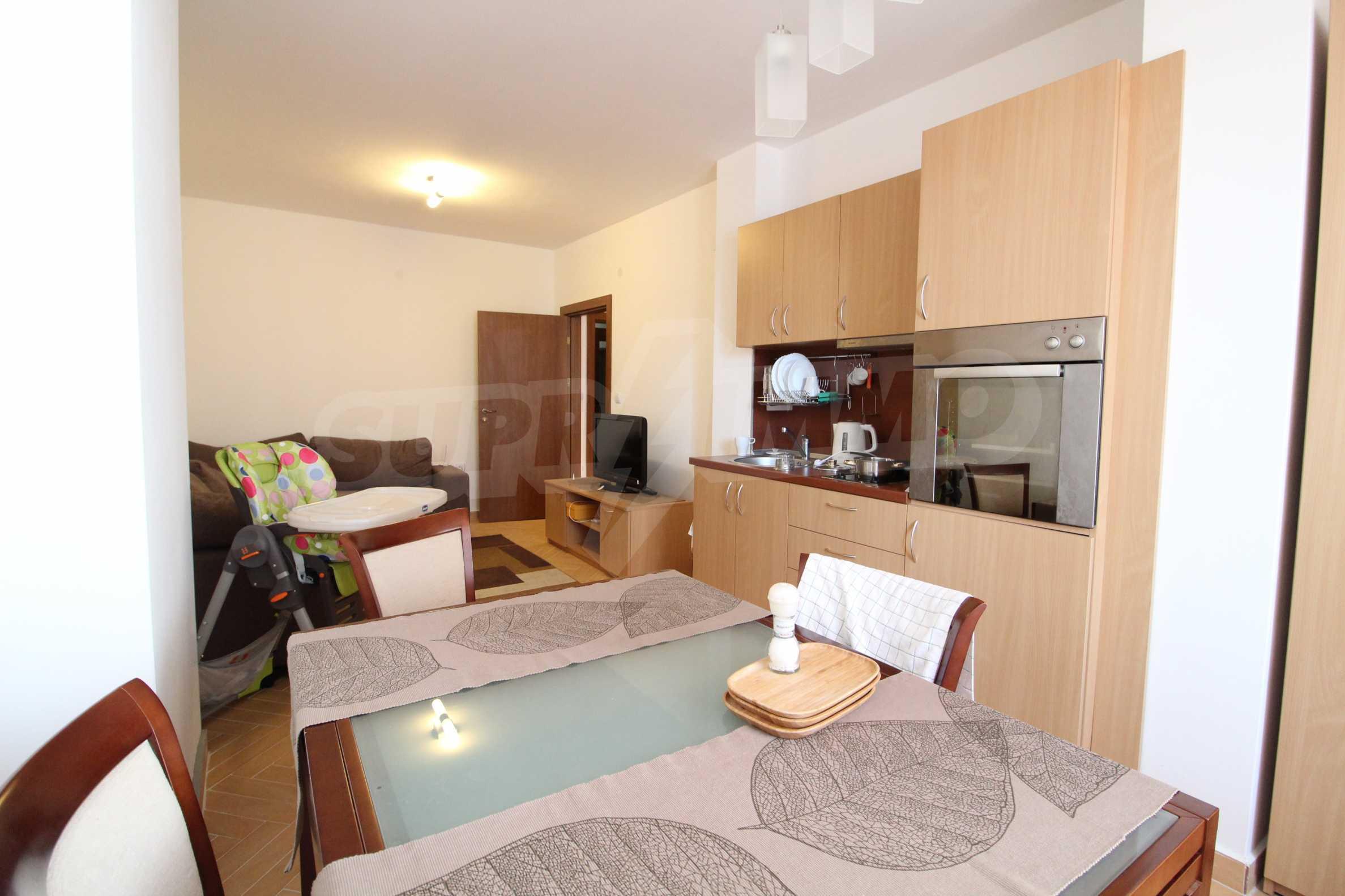 Уютен, едноспален апартамент намиращ се в комплекс Highland Lodge 7
