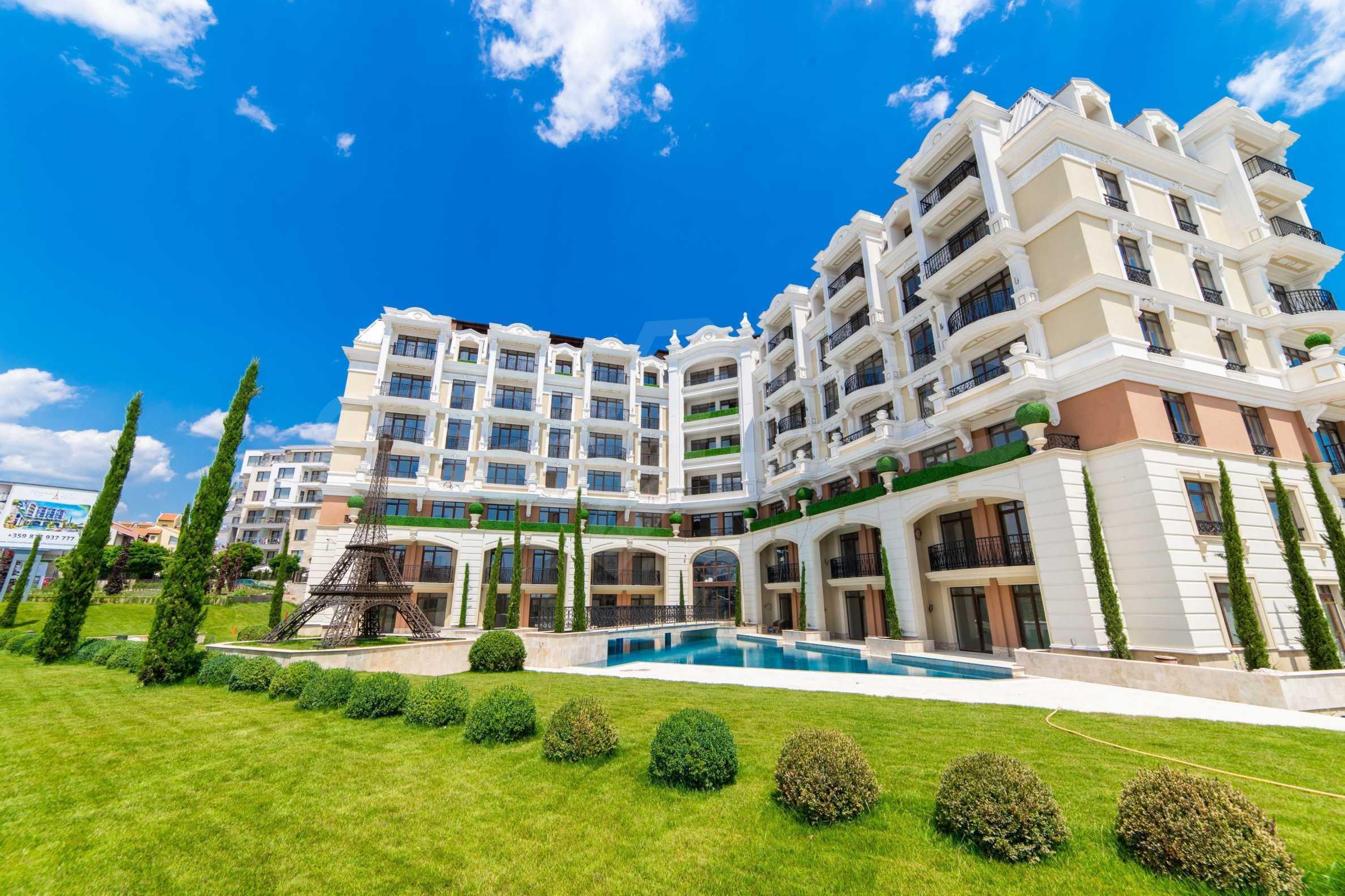 Erstklassige Apartments  zum TOP-Preis ab 890 €/m² im Komplex im Stil der französischen Renaissance (Akt 16) 13