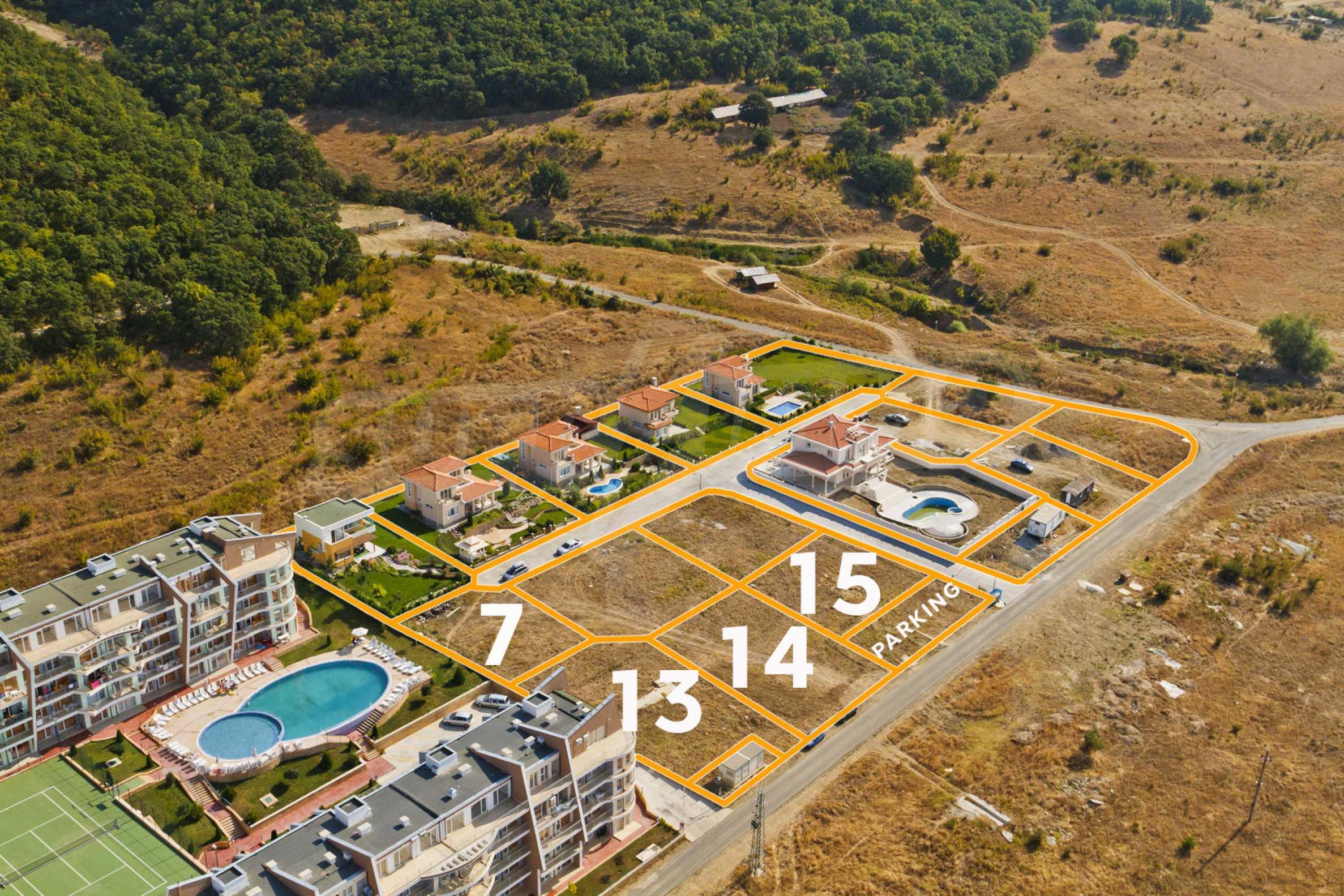 Erschlossene Grundstücke in der luxuriösen Villa-Siedlung SUNSET VILLAS