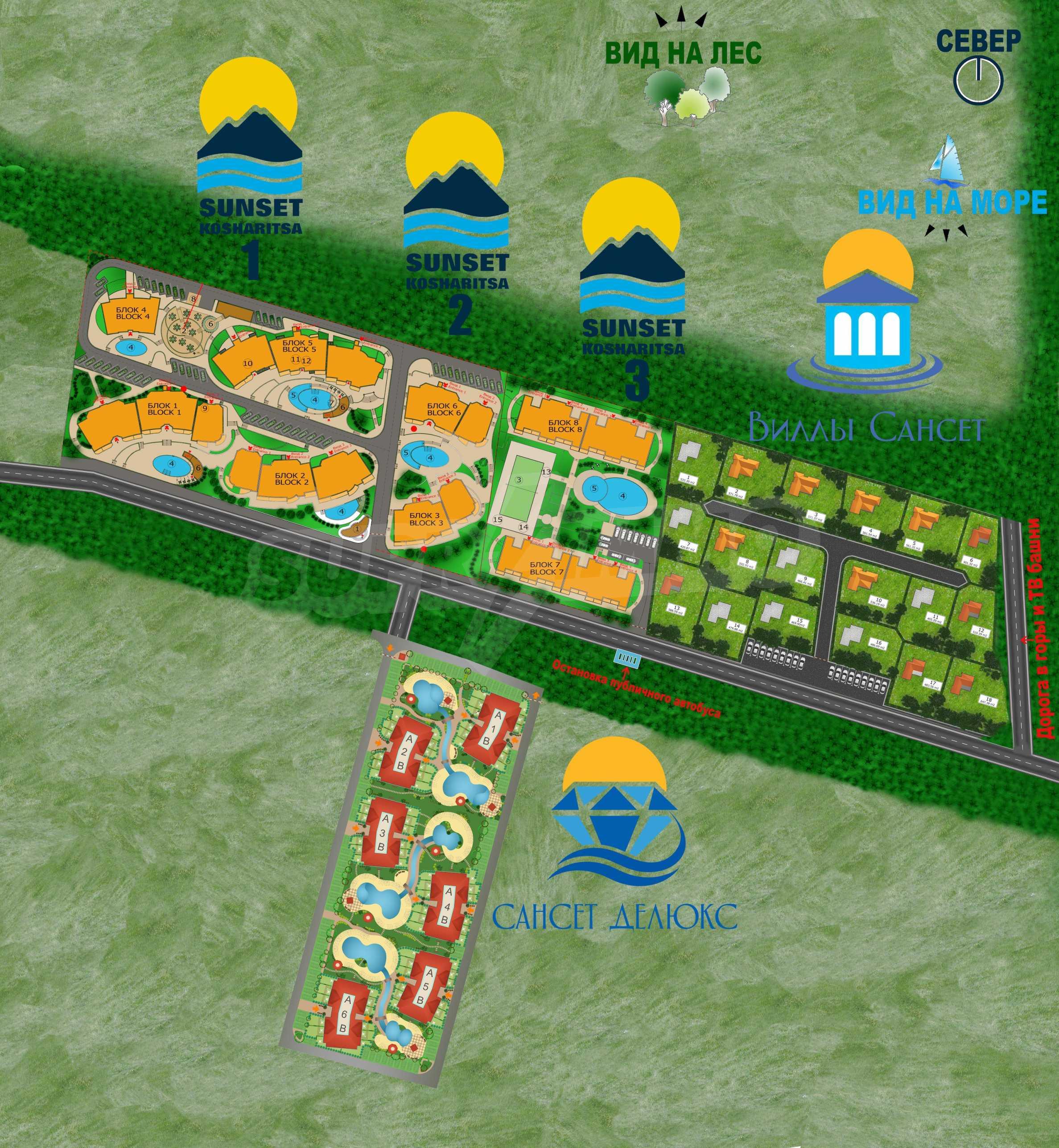 Erschlossene Grundstücke in der luxuriösen Villa-Siedlung SUNSET VILLAS 18