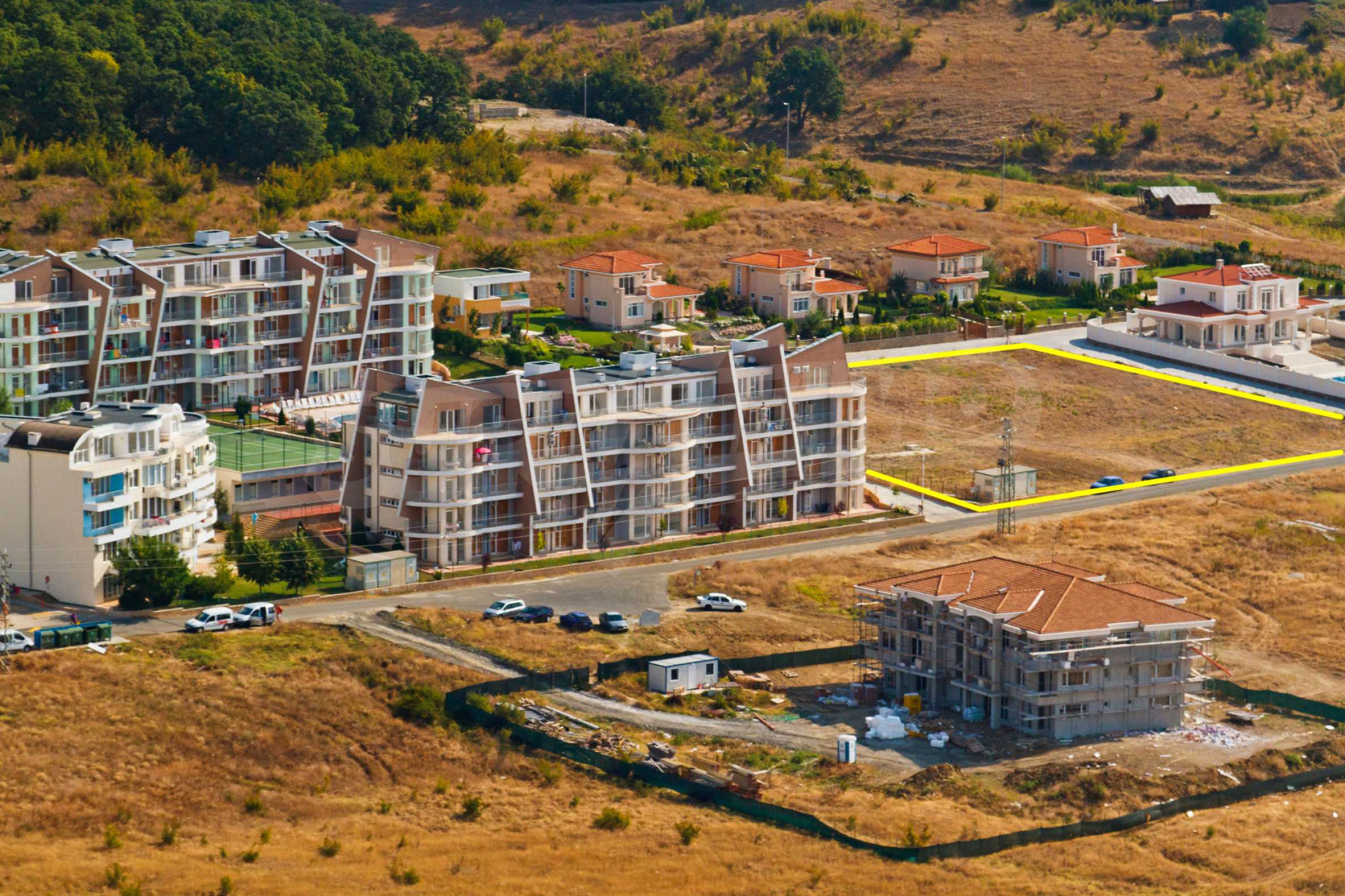 Erschlossene Grundstücke in der luxuriösen Villa-Siedlung SUNSET VILLAS 6
