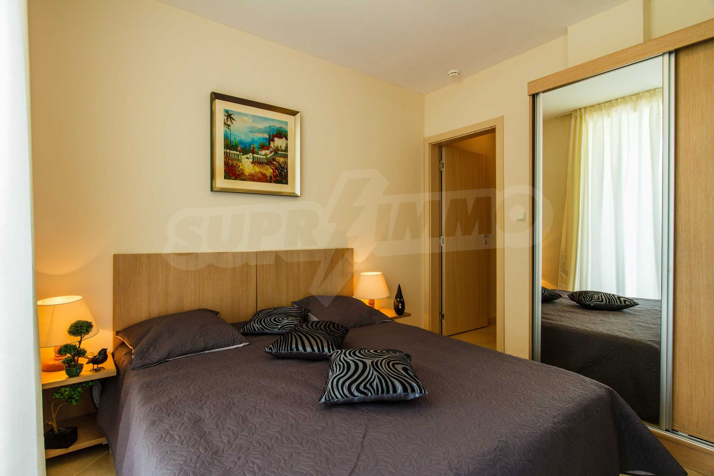 Тристаен апартамент в комплекс Емберли близо до плажа в Лозенец (ап. №423) 3